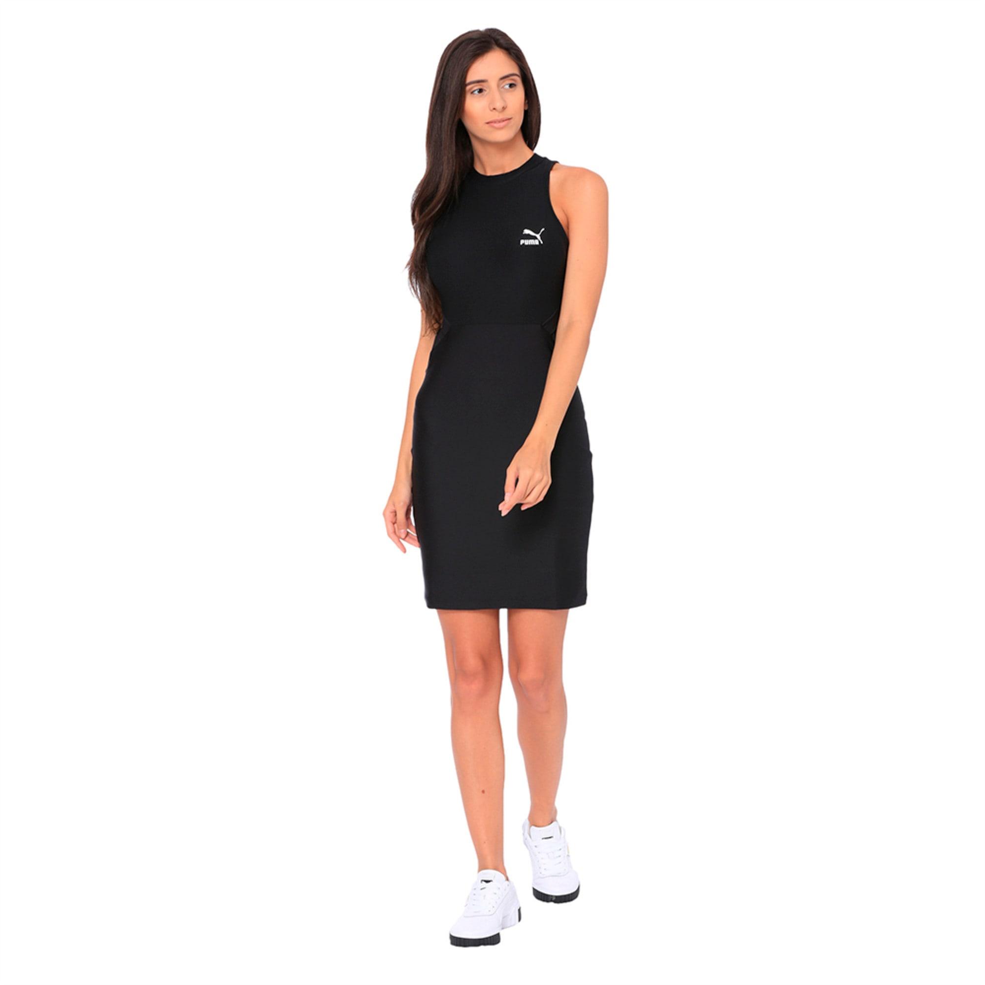 Classics Cut-Out Women's Dress   Puma Black   PUMA Dresses & Skirts   PUMA