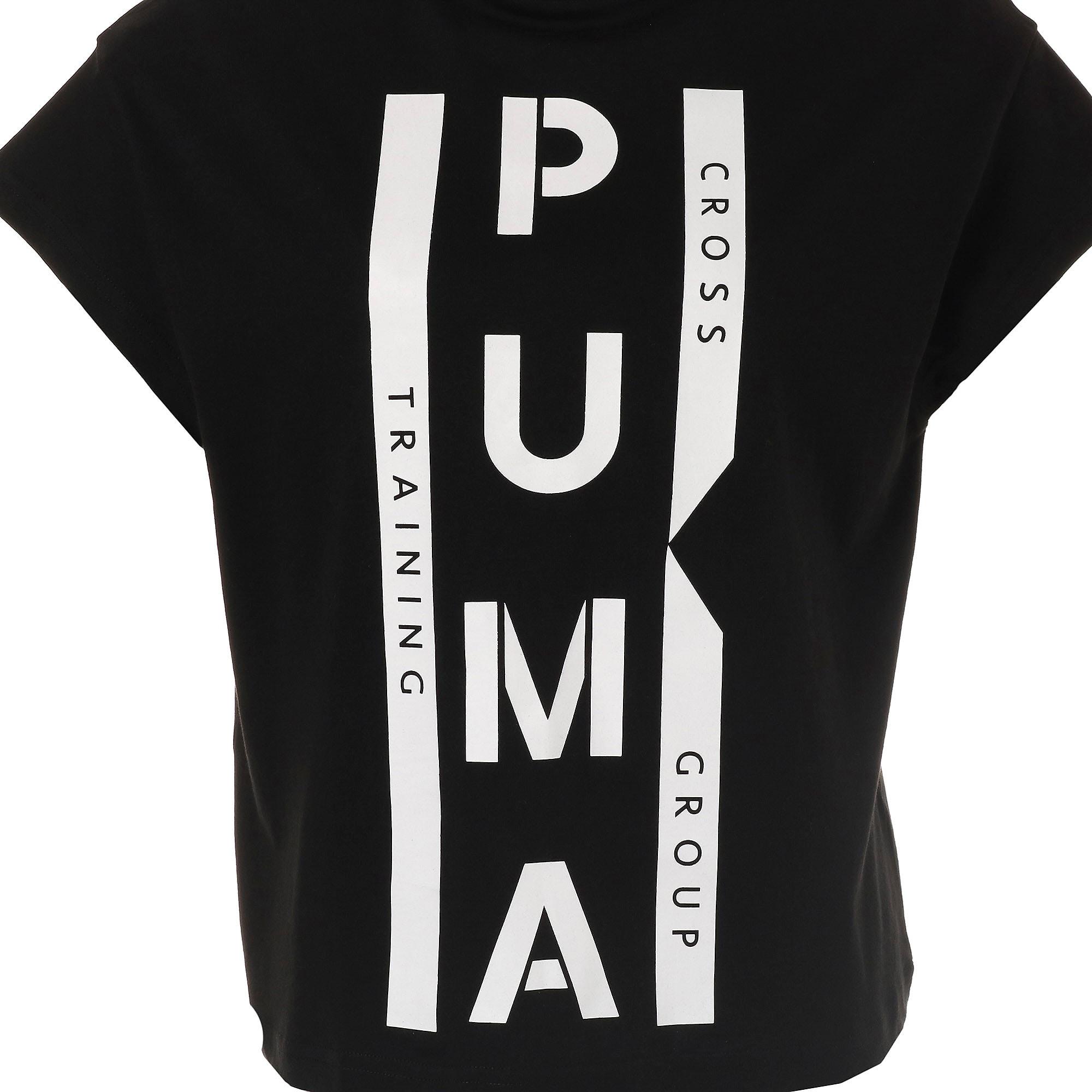 Thumbnail 9 of PUMA XTG グラフィック ウィメンズ SS Tシャツ 半袖, Cotton Black, medium-JPN