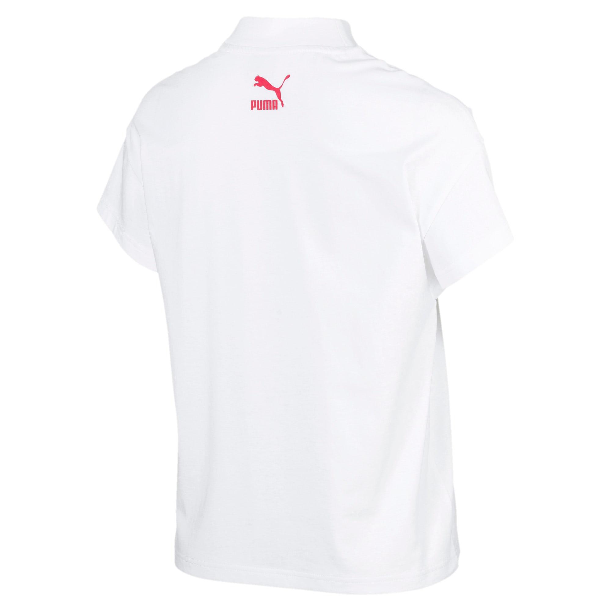 Thumbnail 4 of PUMA XTG グラフィック ウィメンズ SS Tシャツ 半袖, Puma White, medium-JPN