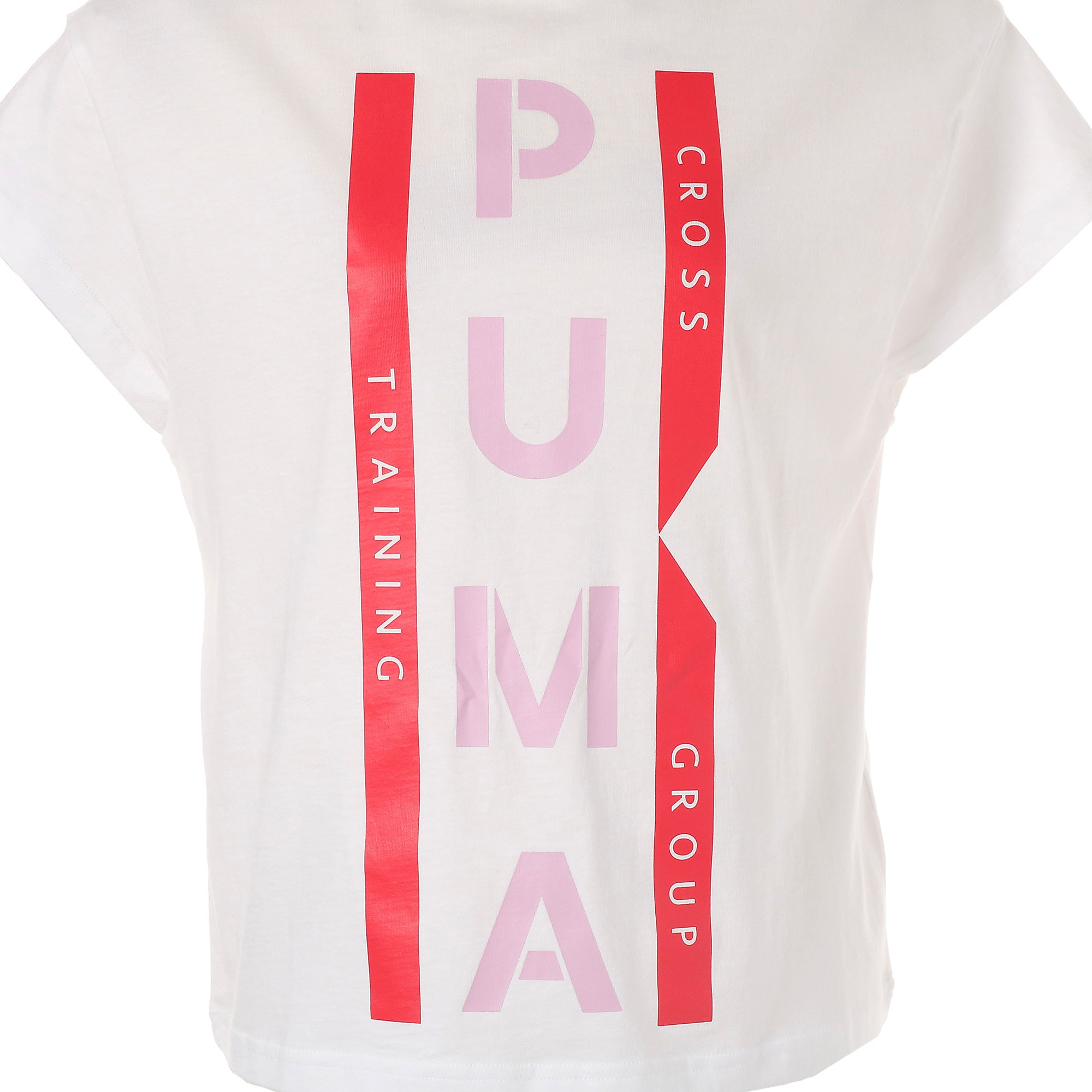 Thumbnail 9 of PUMA XTG グラフィック ウィメンズ SS Tシャツ 半袖, Puma White, medium-JPN