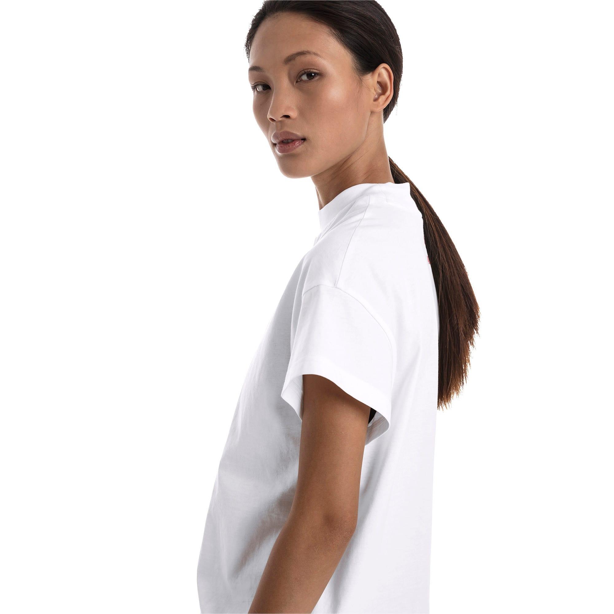 Thumbnail 3 of PUMA XTG グラフィック ウィメンズ SS Tシャツ 半袖, Puma White, medium-JPN
