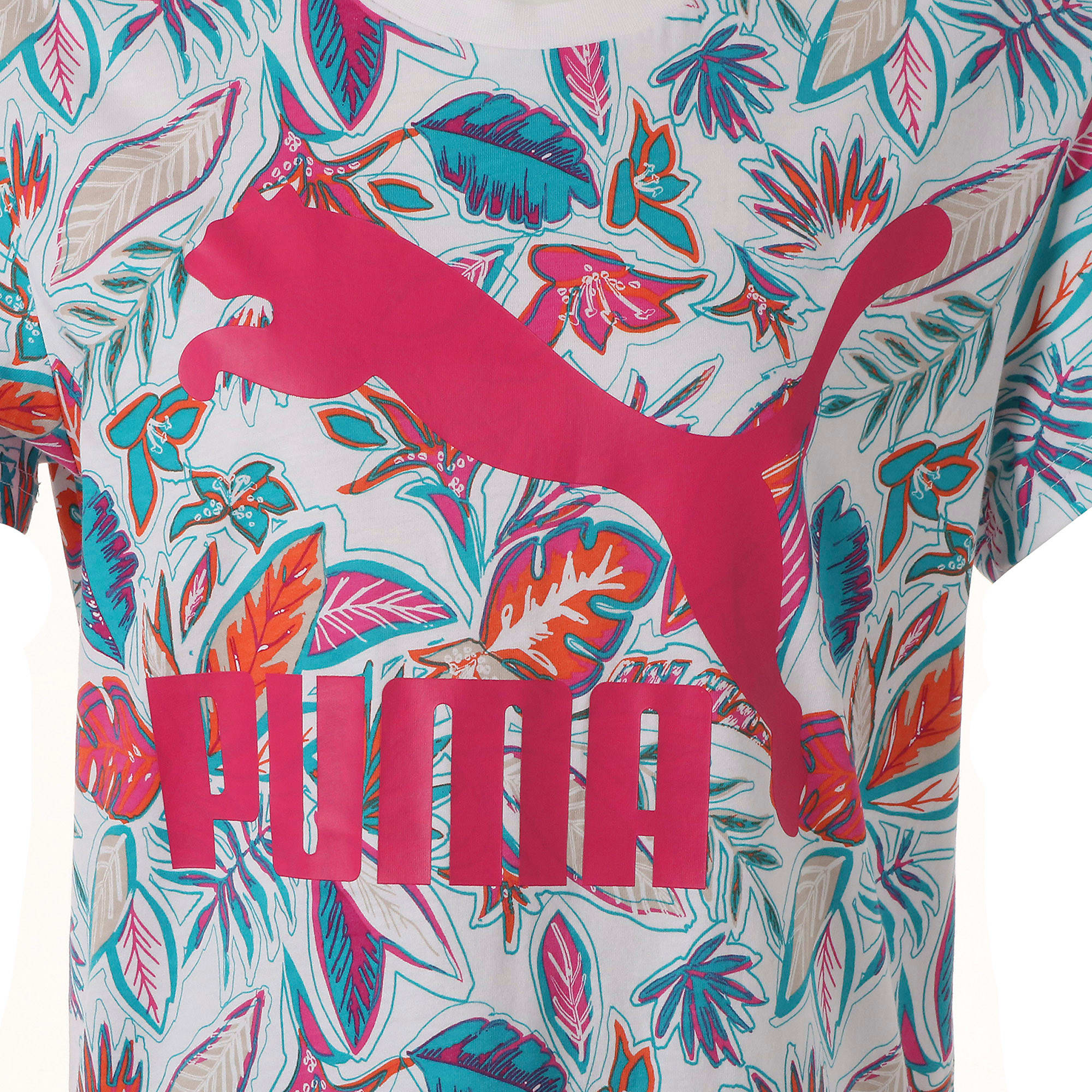Thumbnail 4 of CLASSICS AOP ウィメンズ SS Tシャツ 半袖, Puma White, medium-JPN