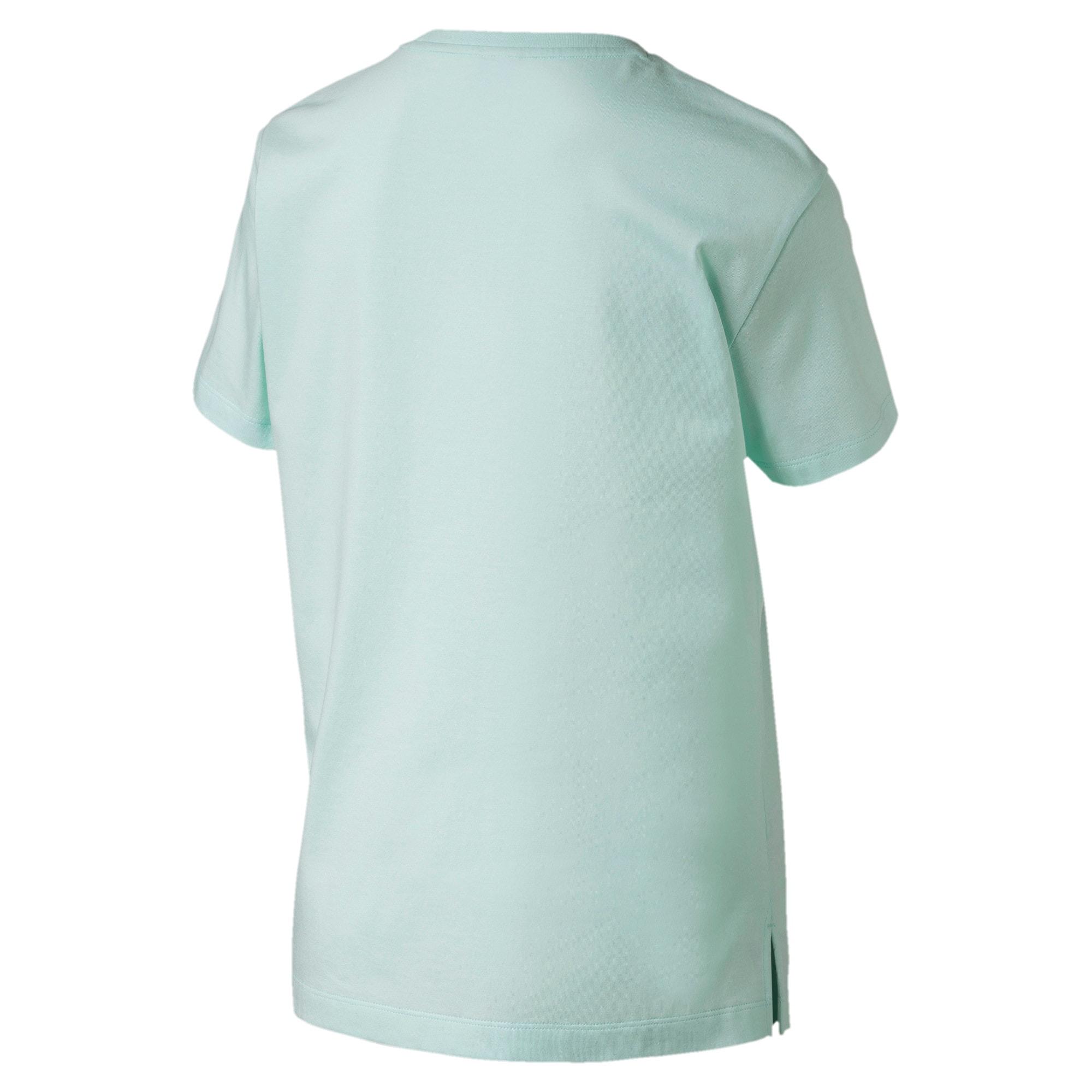 Thumbnail 4 of CLASSICS ロゴ ウィメンズ SS Tシャツ 半袖, Fair Aqua, medium-JPN