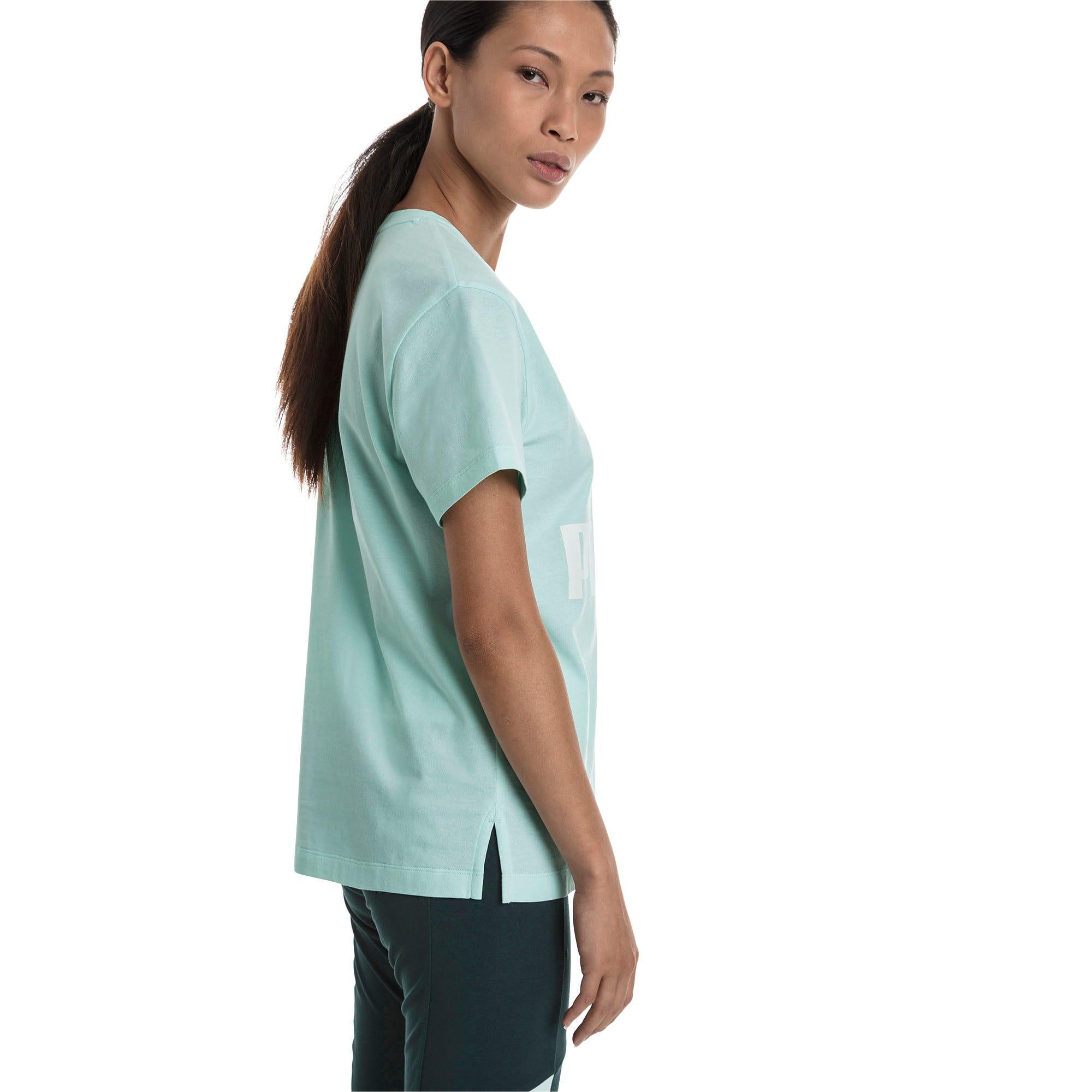 Thumbnail 3 of CLASSICS ロゴ ウィメンズ SS Tシャツ 半袖, Fair Aqua, medium-JPN