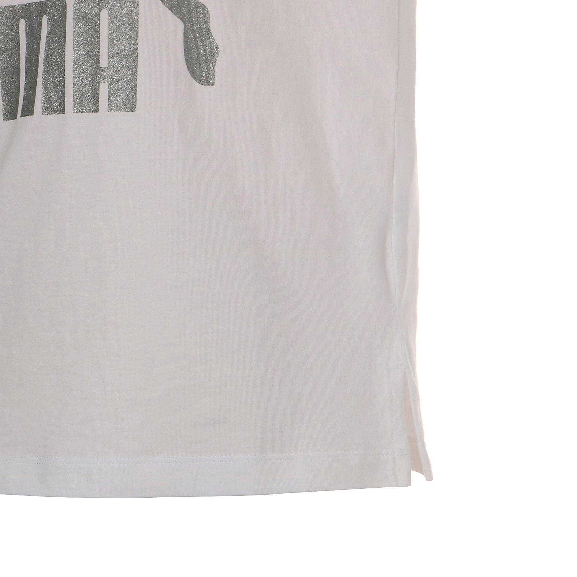Thumbnail 8 of CLASSICS ロゴ ウィメンズ SS Tシャツ 半袖, Puma White-metal, medium-JPN