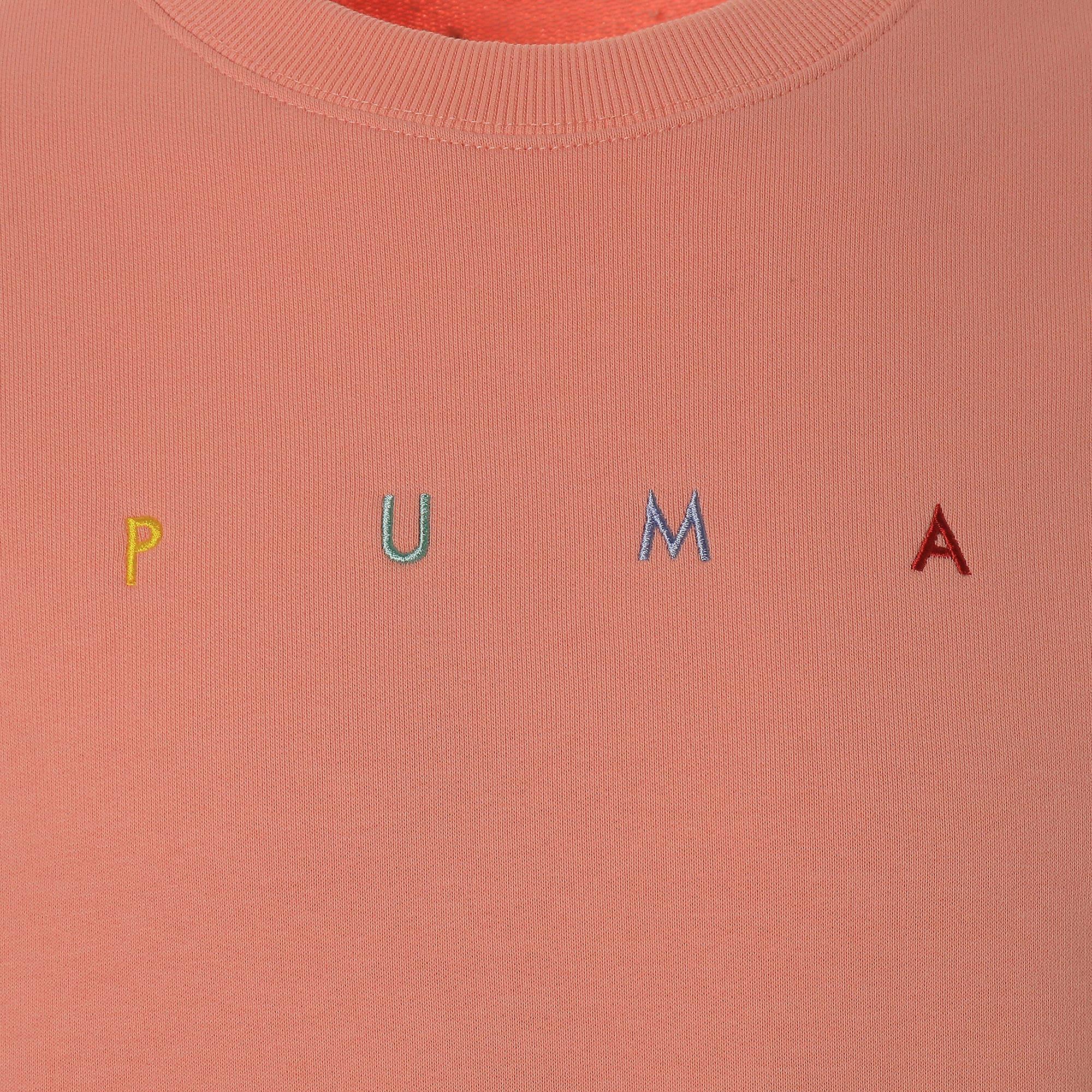 Thumbnail 7 of FIERCE CAT クルースウェット, Peach Bud, medium-JPN