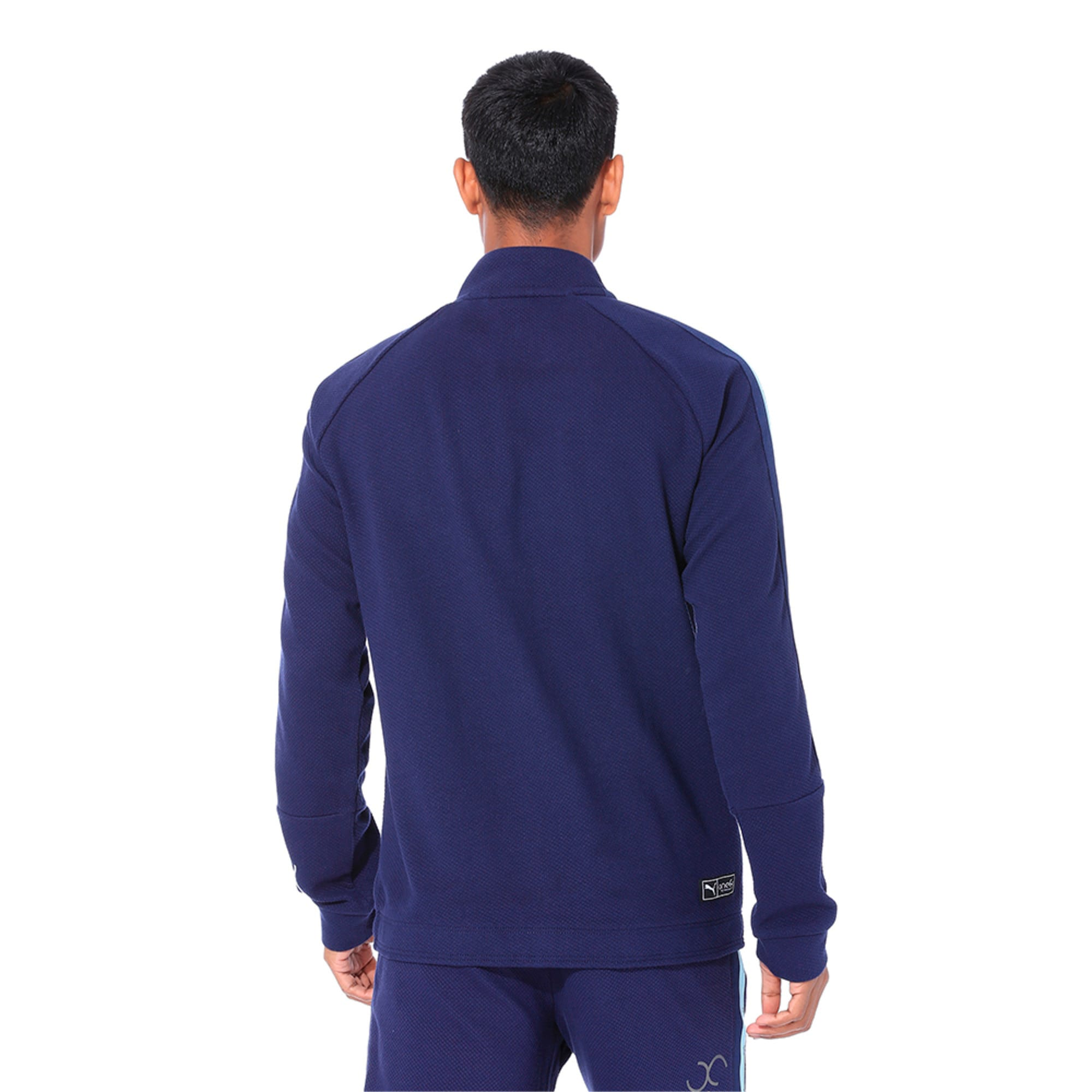 Thumbnail 5 of VK Sweat Jacket, Peacoat, medium-IND