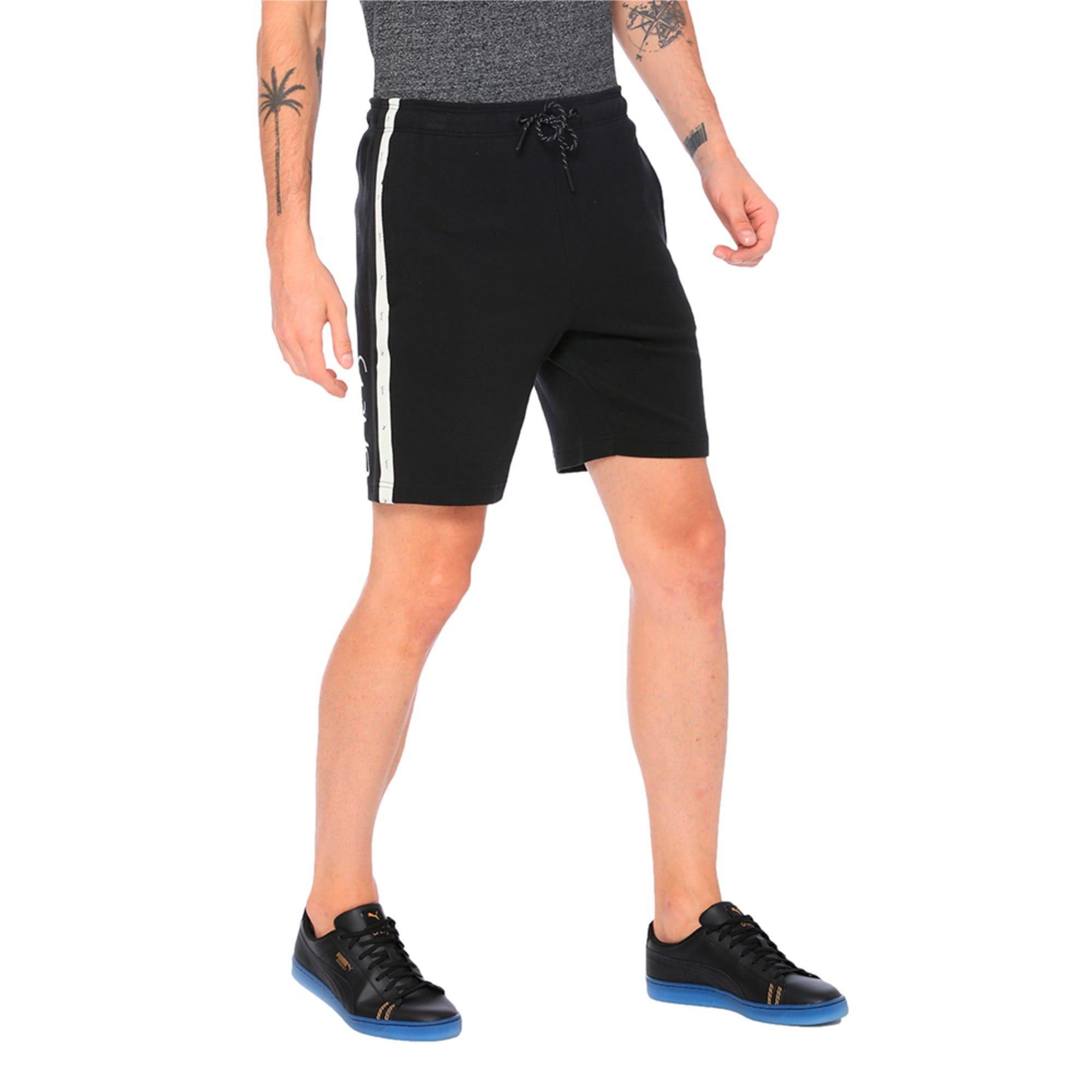 Thumbnail 2 of VK Sweat Shorts, Puma Black, medium-IND