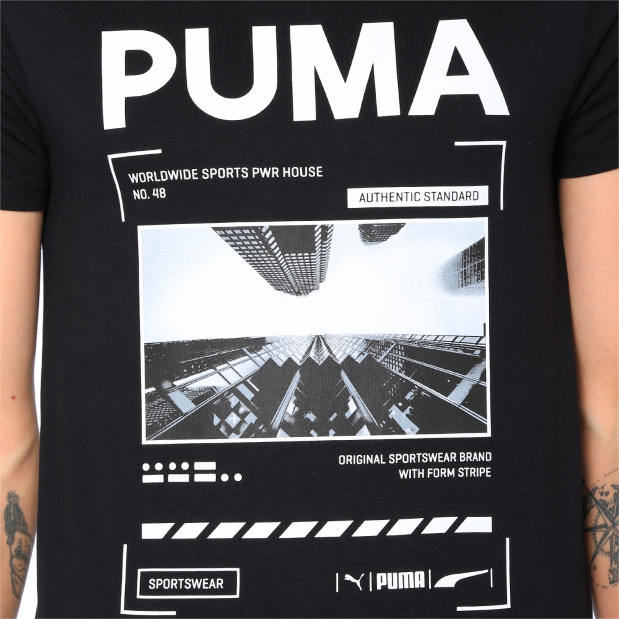 Thumbnail 6 of Graphic Epoch Photo Tee, Surf The Web, medium-IND
