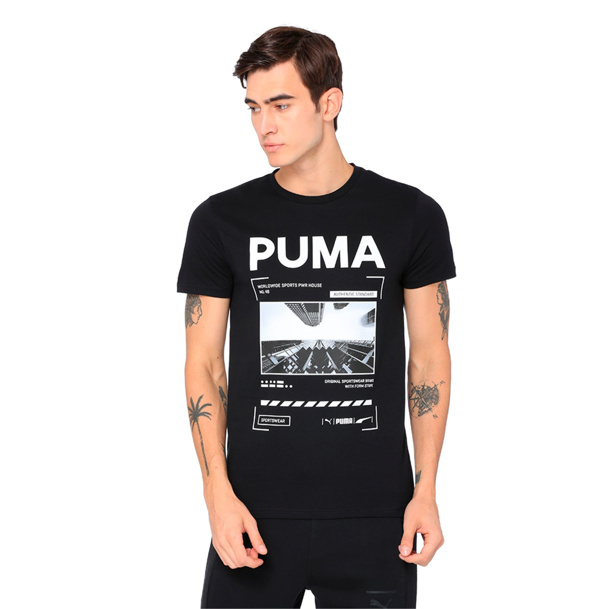Thumbnail 4 of Graphic Epoch Photo Tee, Surf The Web, medium-IND