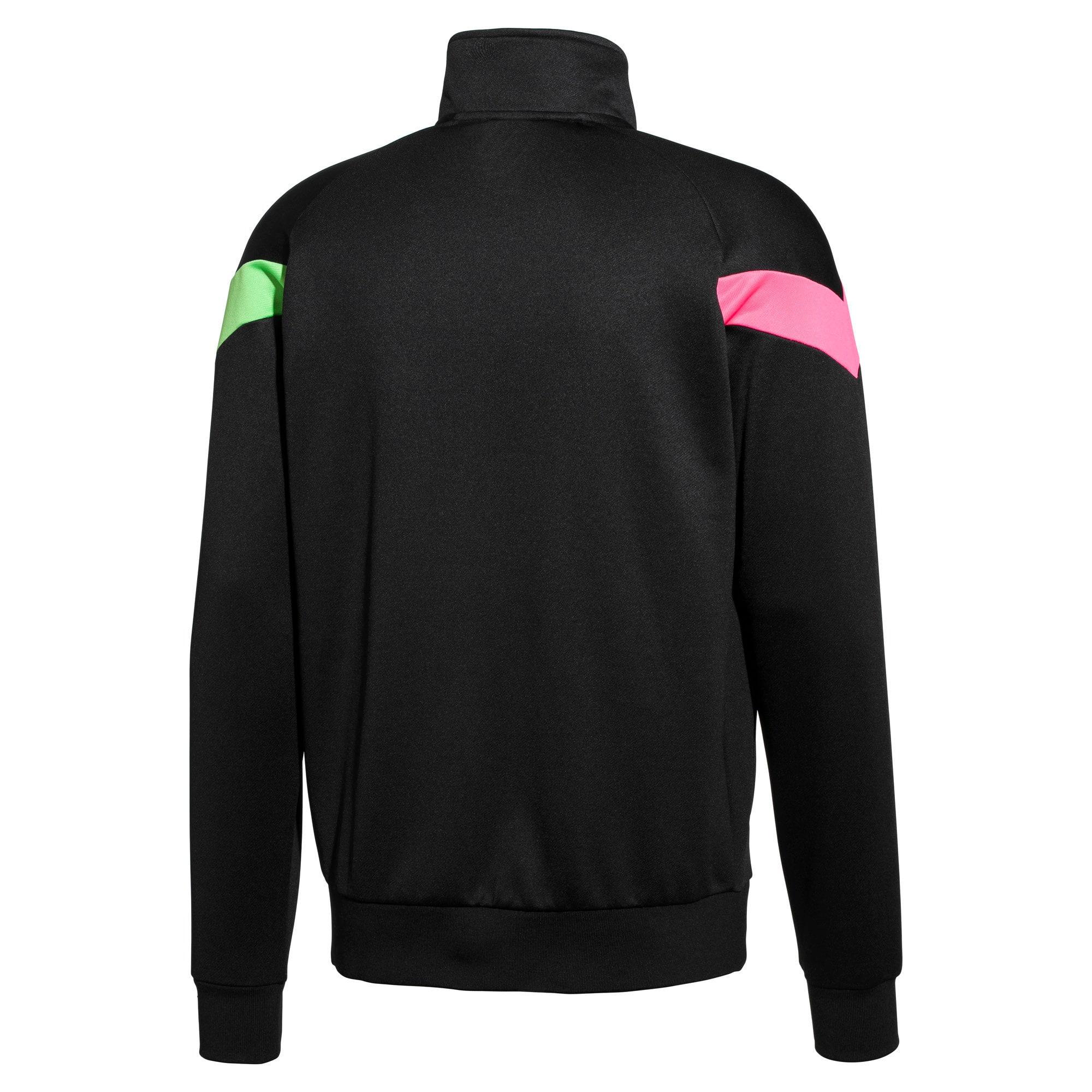 Thumbnail 2 of PUMA x MTV MCS Men's Track Jacket, Puma Black, medium