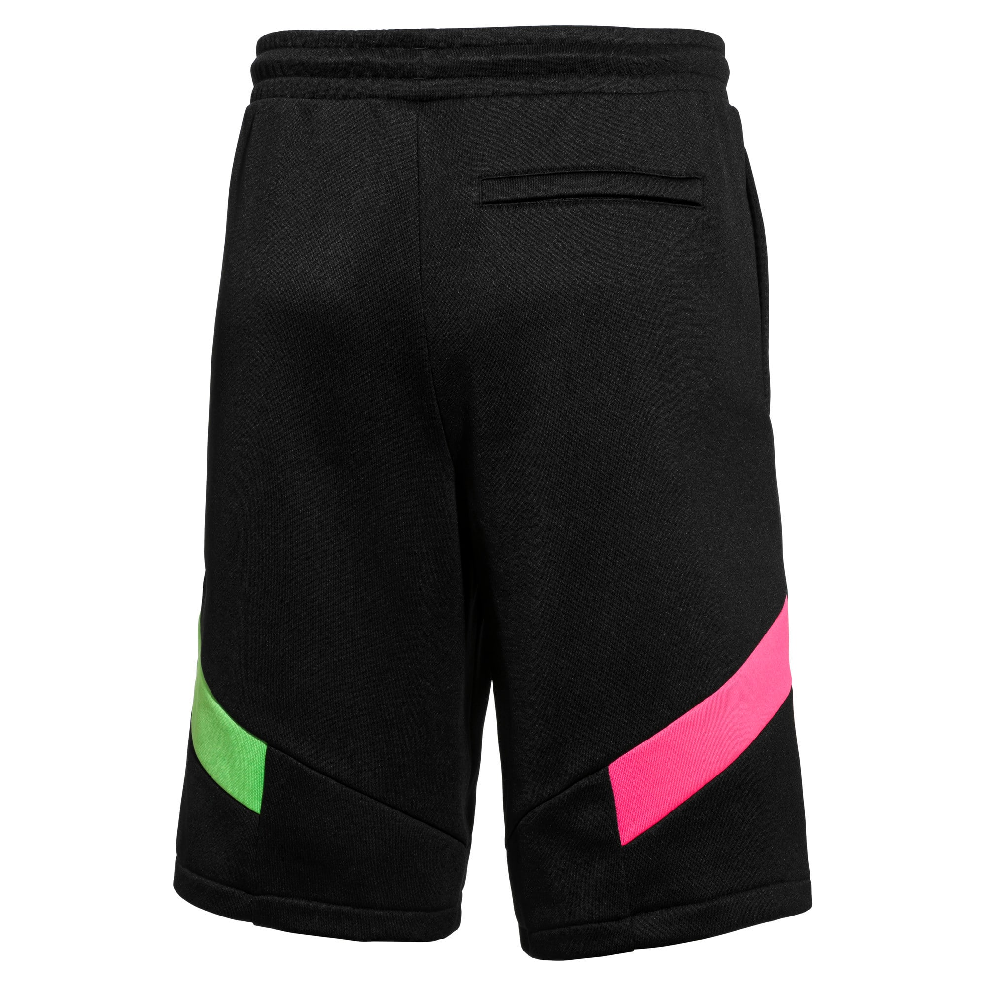 Thumbnail 2 of PUMA x MTV MCS Men's Shorts, Puma Black, medium