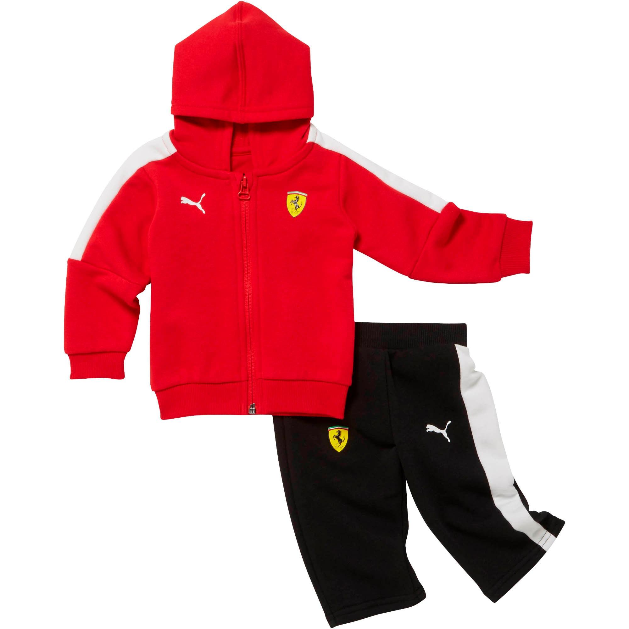 Thumbnail 1 of Scuderia Ferrari Toddler Tracksuit, Rosso Corsa, medium