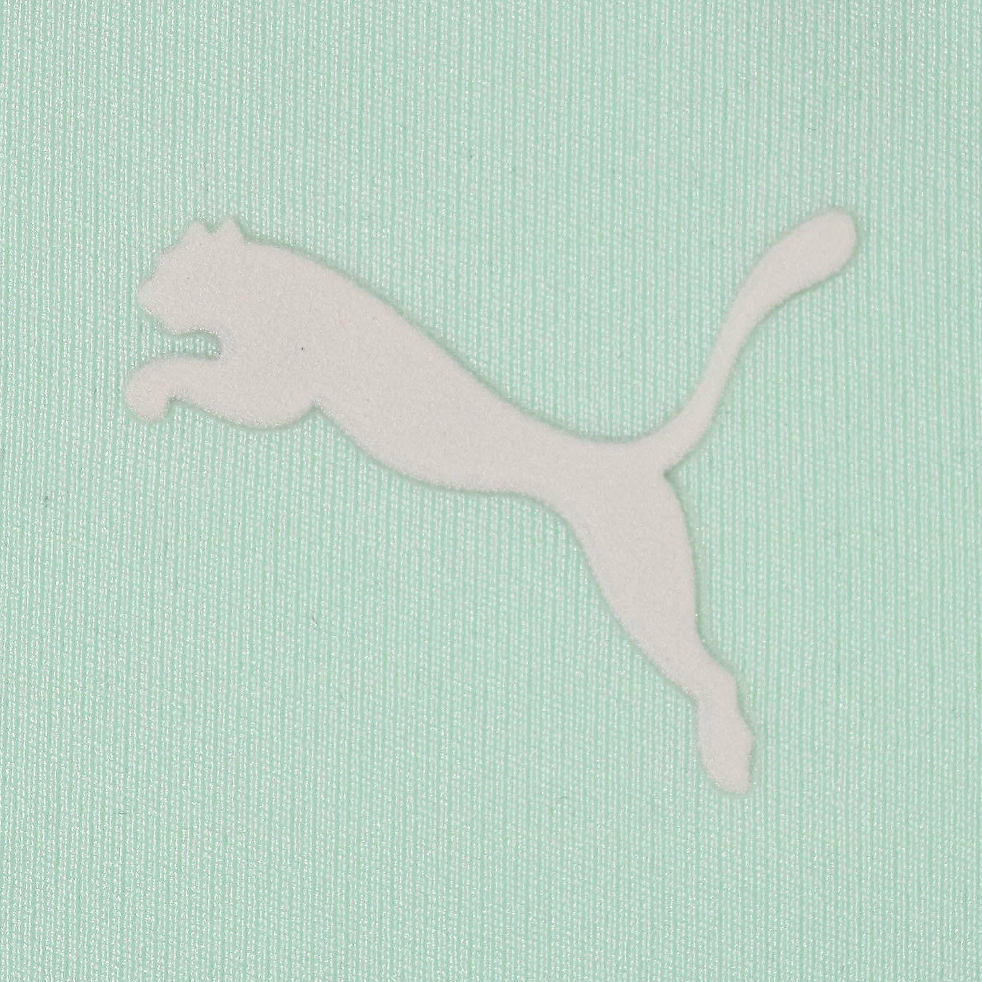 Thumbnail 7 of SG x PUMA ウィメンズ クロップド トップ, Fair Aqua-Puma Black, medium-JPN