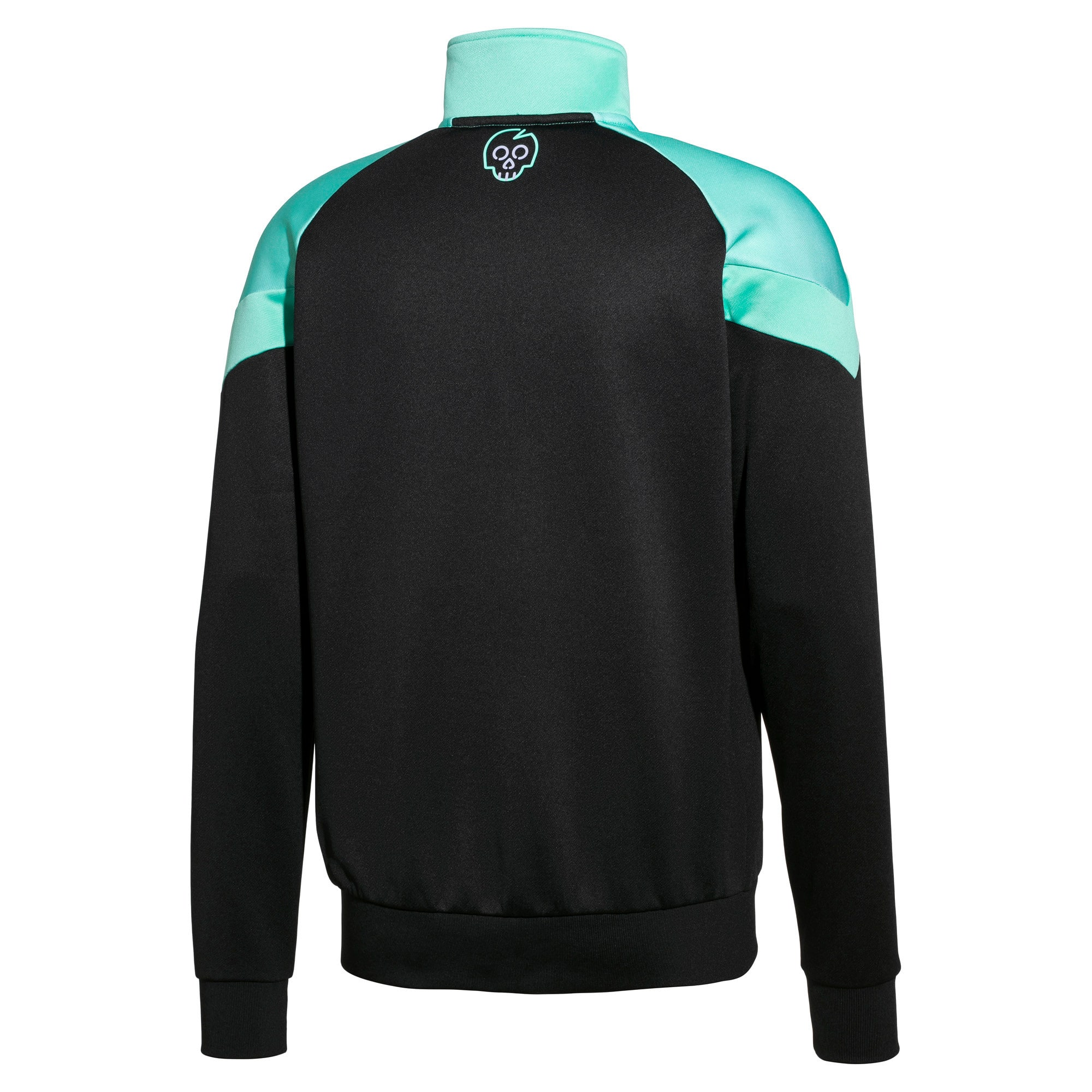 Thumbnail 2 of PUMA x MTV MCS Men's AOP Track Top, Puma Black, medium