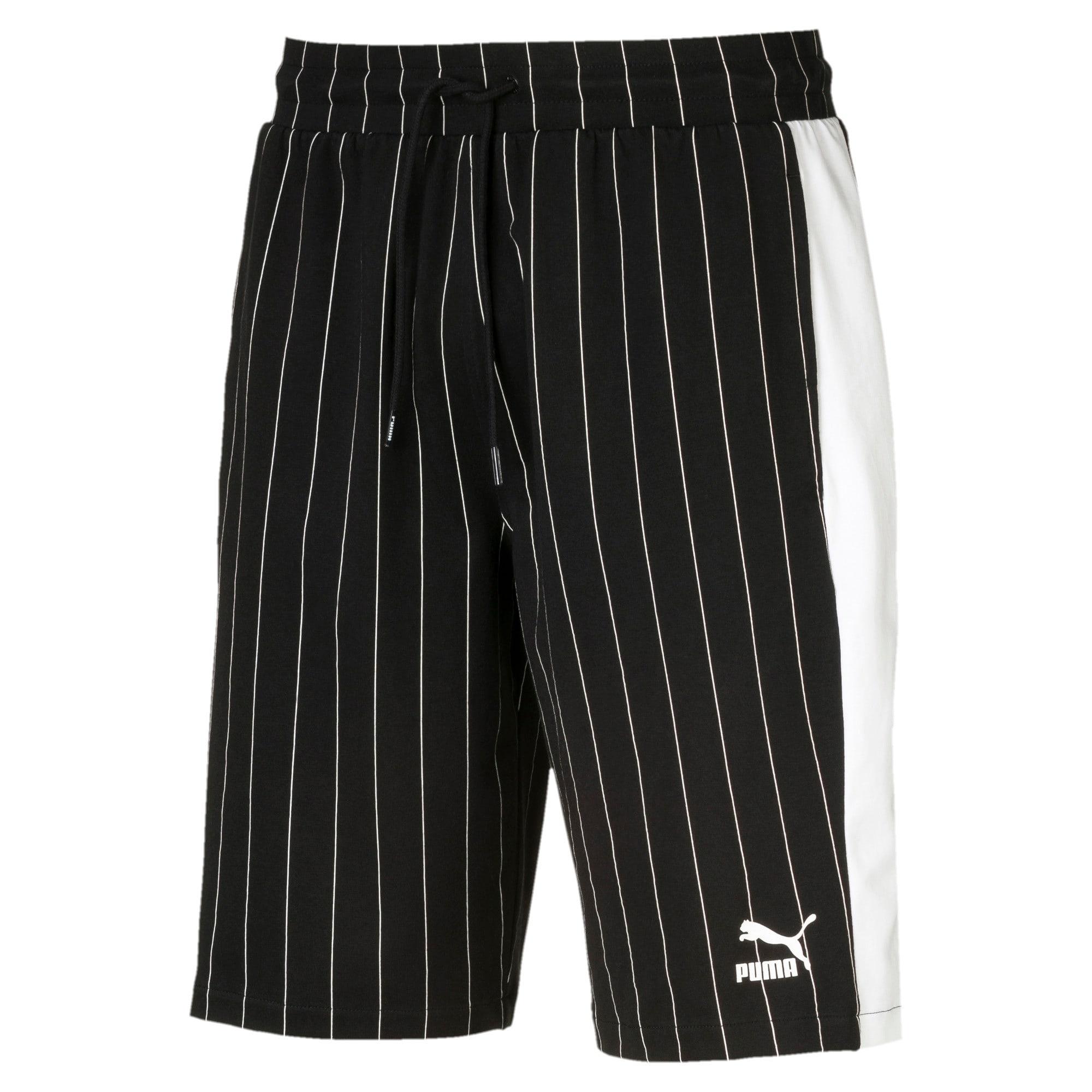 Thumbnail 1 of Archive Pinstripe Men's Shorts, Puma Black, medium