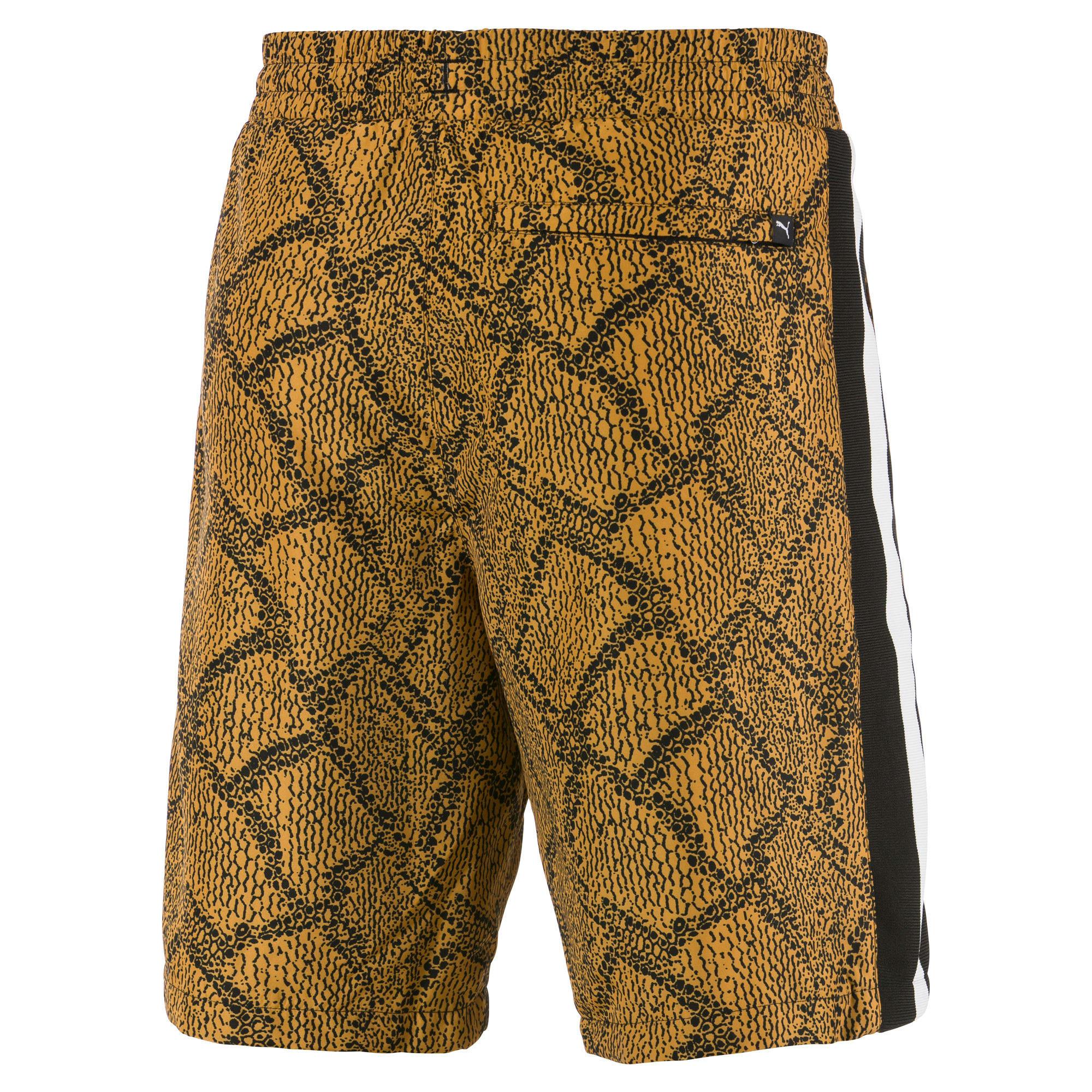 Thumbnail 2 of Snake Pack luXTG Woven Men's Shorts, Sunflower-AOP, medium