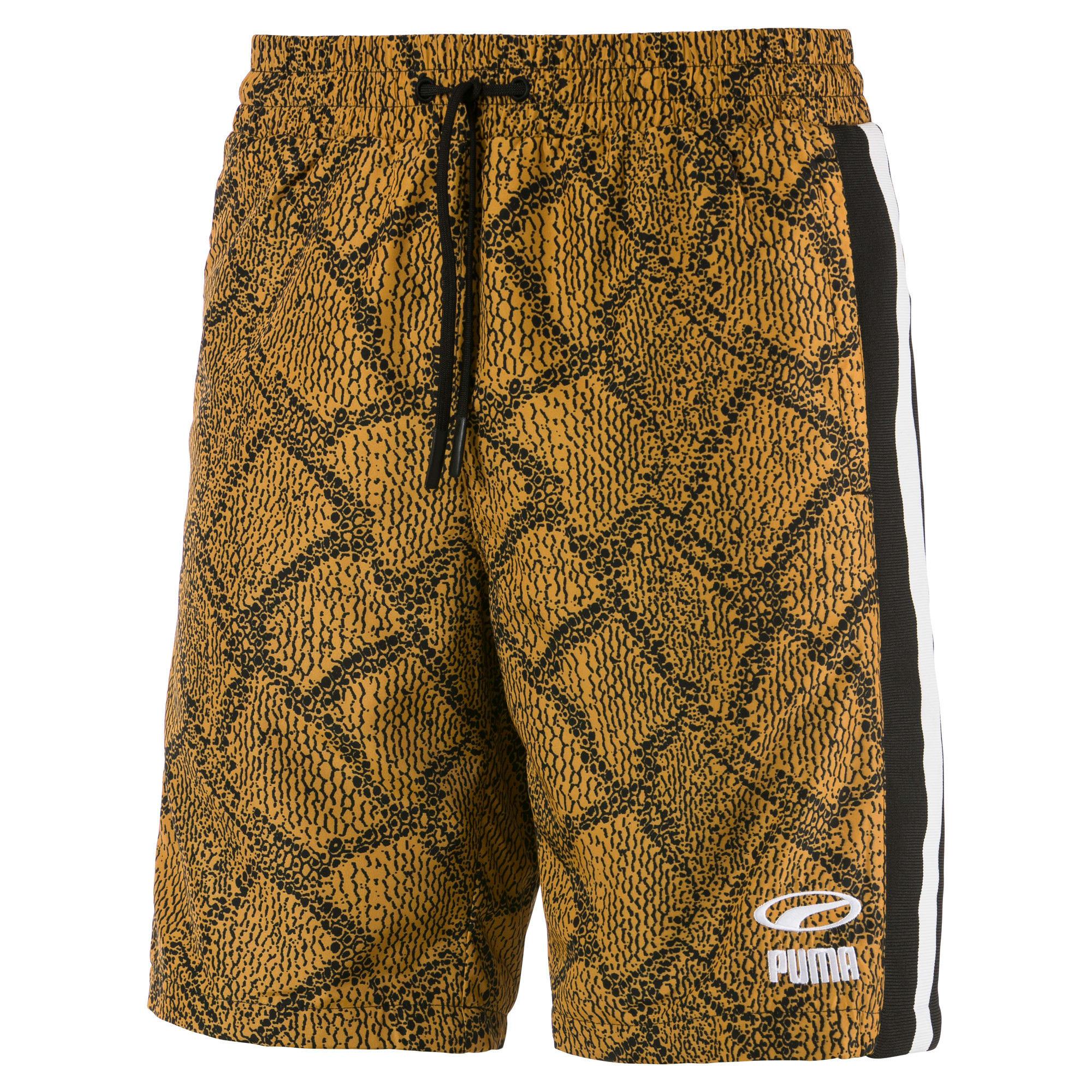 Thumbnail 1 of Snake Pack luXTG Woven Men's Shorts, Sunflower-AOP, medium