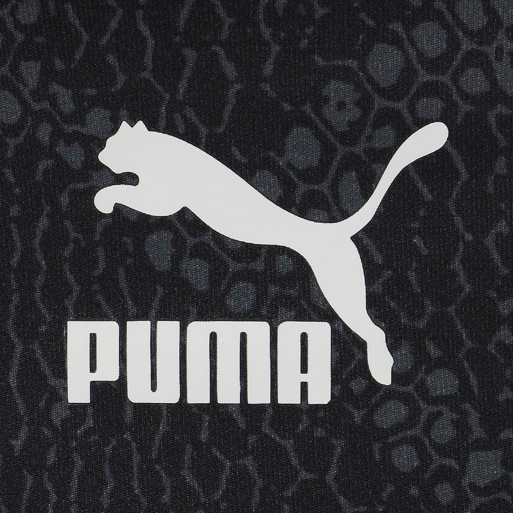 Thumbnail 4 of SNAKE PACK ウィメンズ クロップド トップ, Puma Black-AOP, medium-JPN