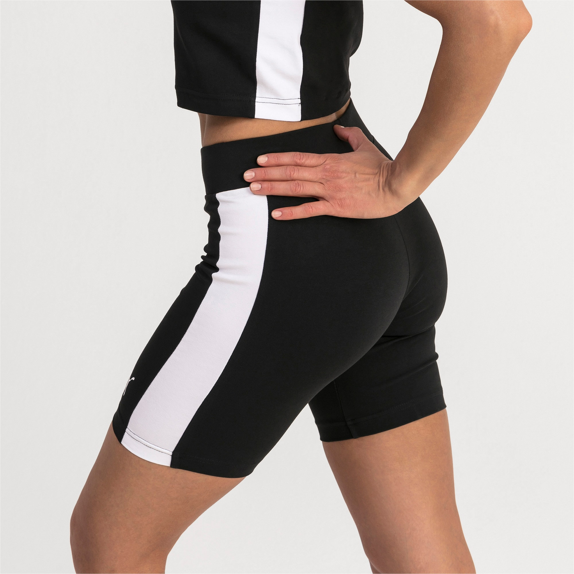 Classics T7 Women's Cycling Shorts, Cotton Black, large