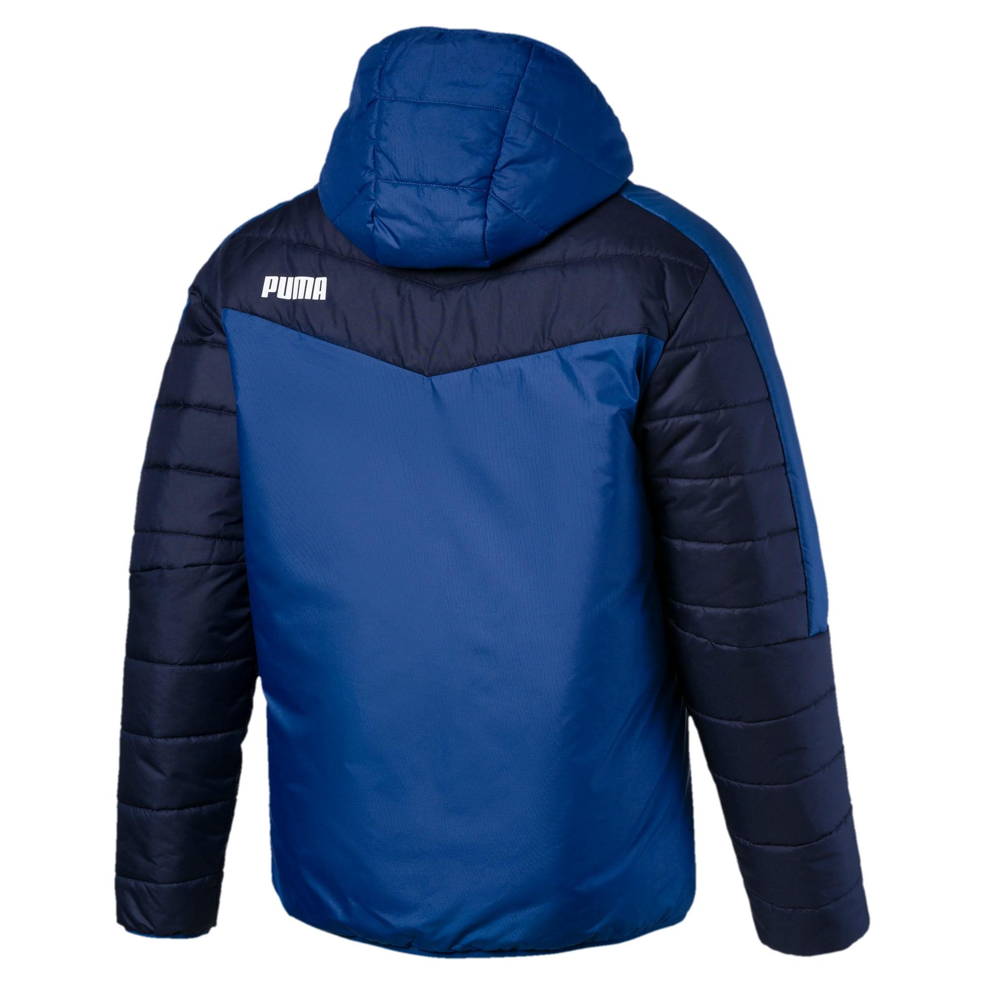 Thumbnail 5 of warmCELL Men's Padded Jacket, Galaxy Blue-Peacoat, medium
