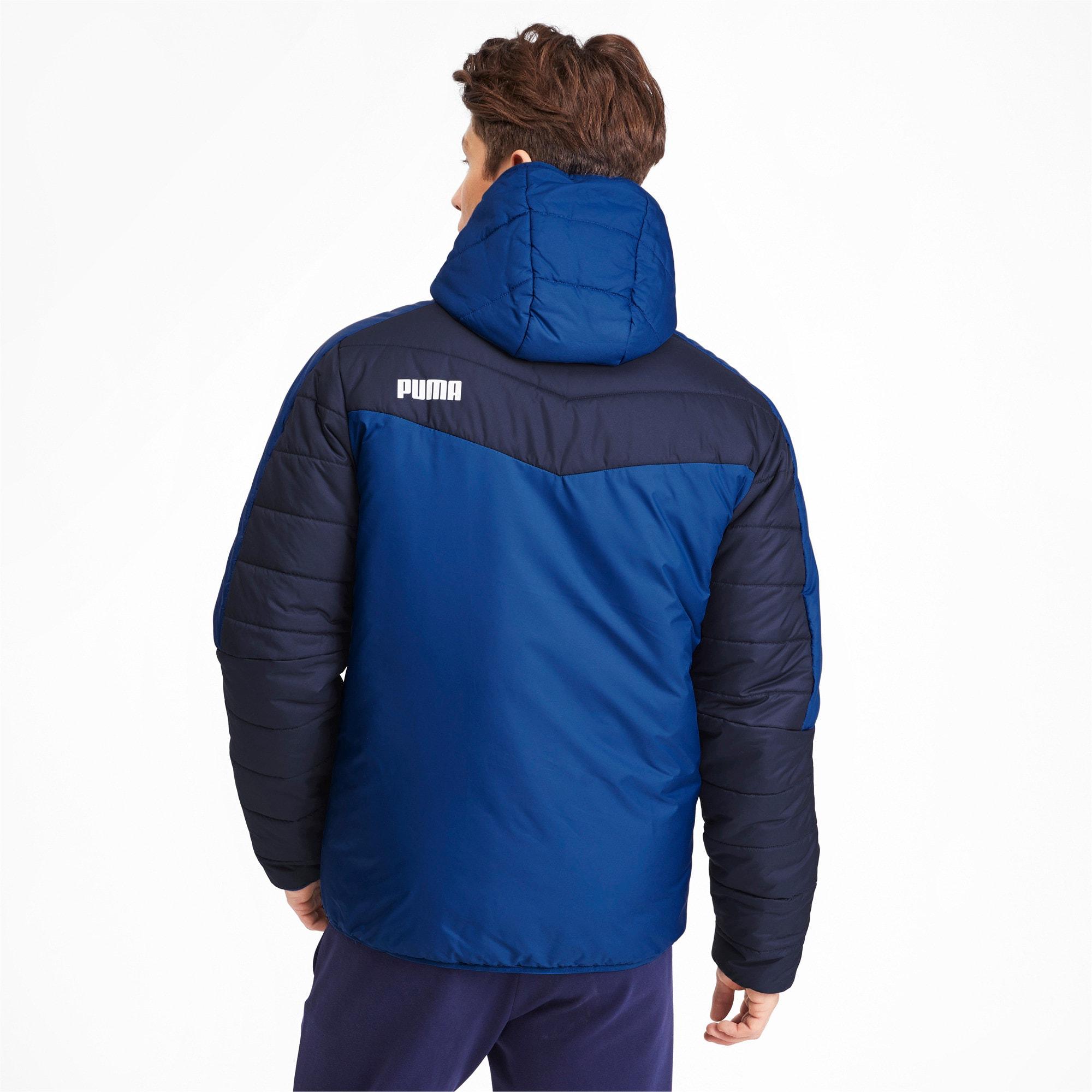 Thumbnail 3 of warmCELL Men's Padded Jacket, Galaxy Blue-Peacoat, medium