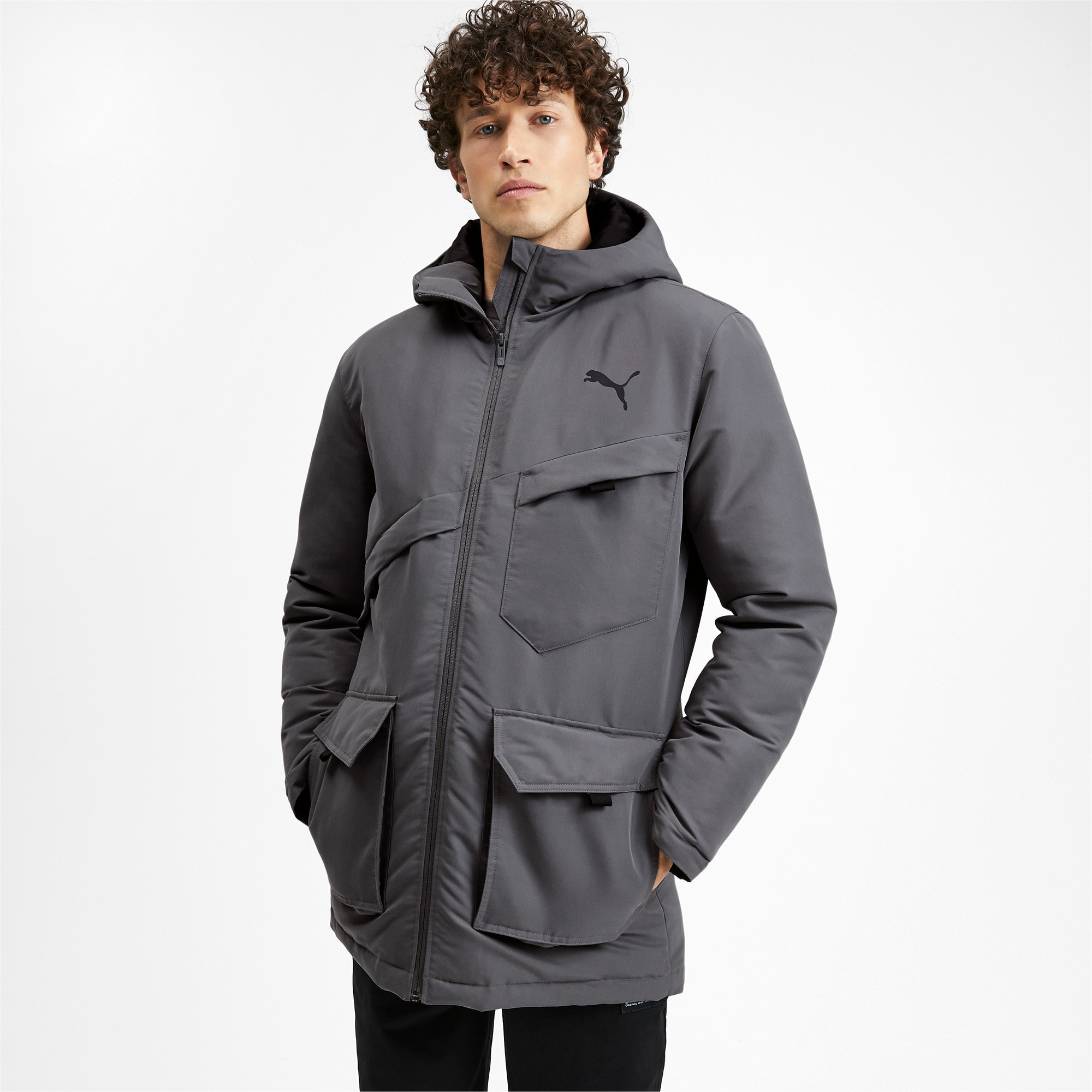 Thumbnail 2 of Essentials Protect Men's Jacket, CASTLEROCK, medium