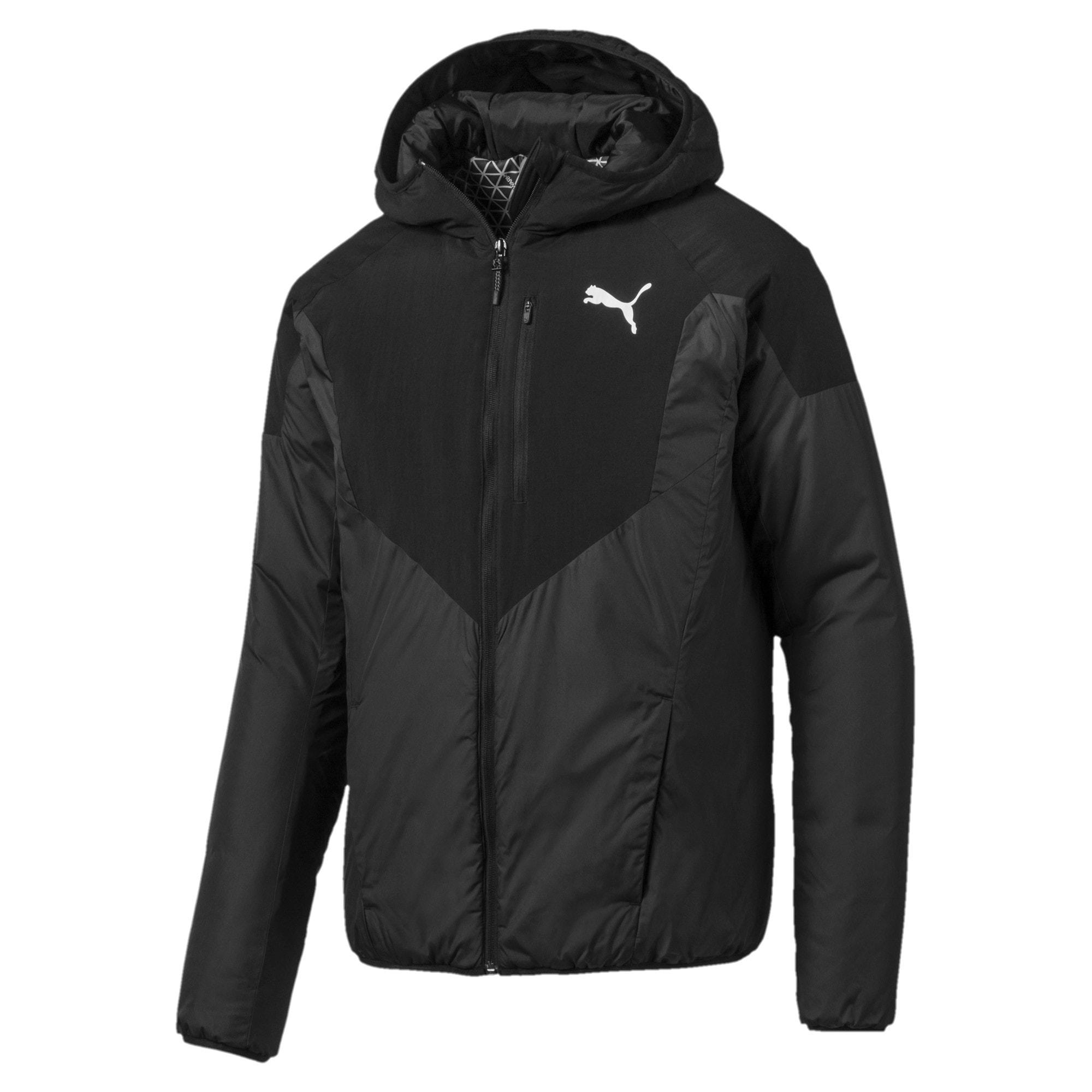 Thumbnail 1 of PWRWarm Padded Men's Jacket, Puma Black, medium-IND