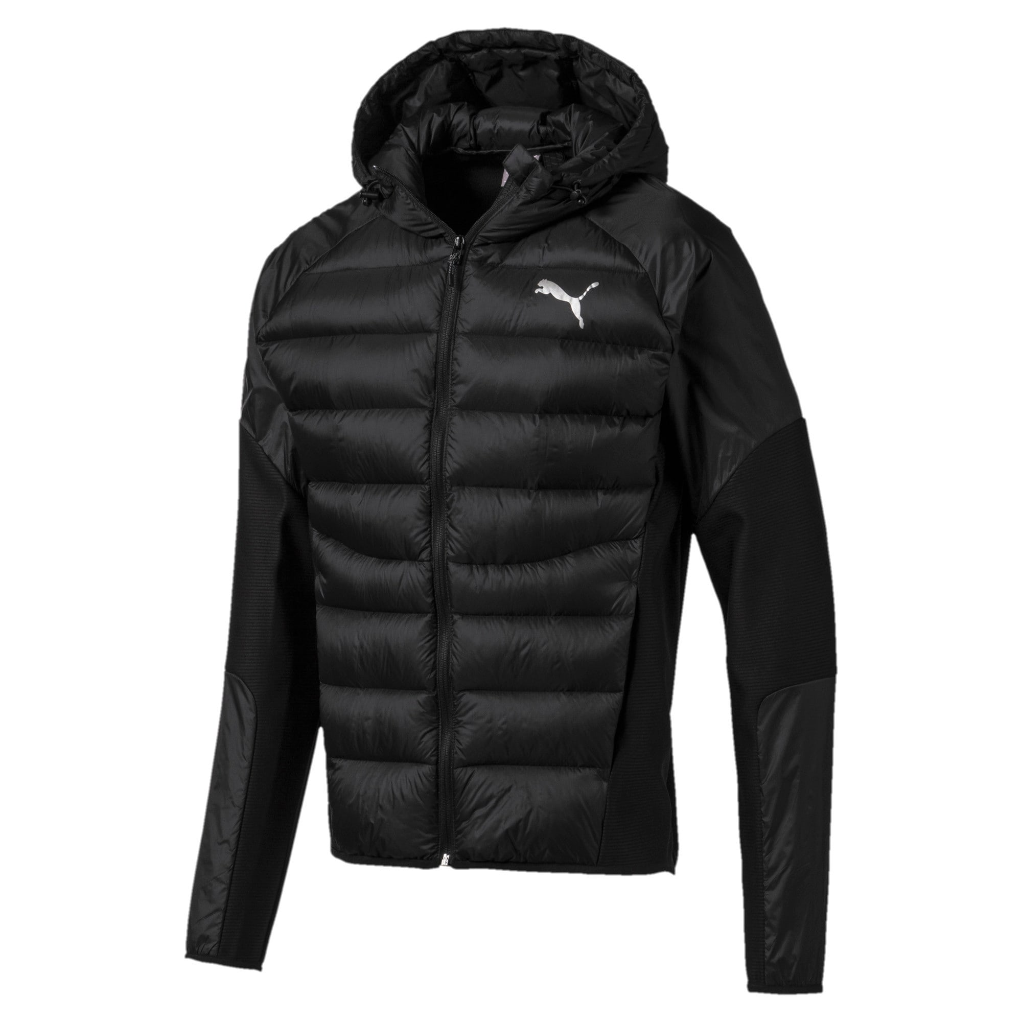 Thumbnail 4 of 600 Hybrid Down Men's Jacket, Puma Black, medium-IND