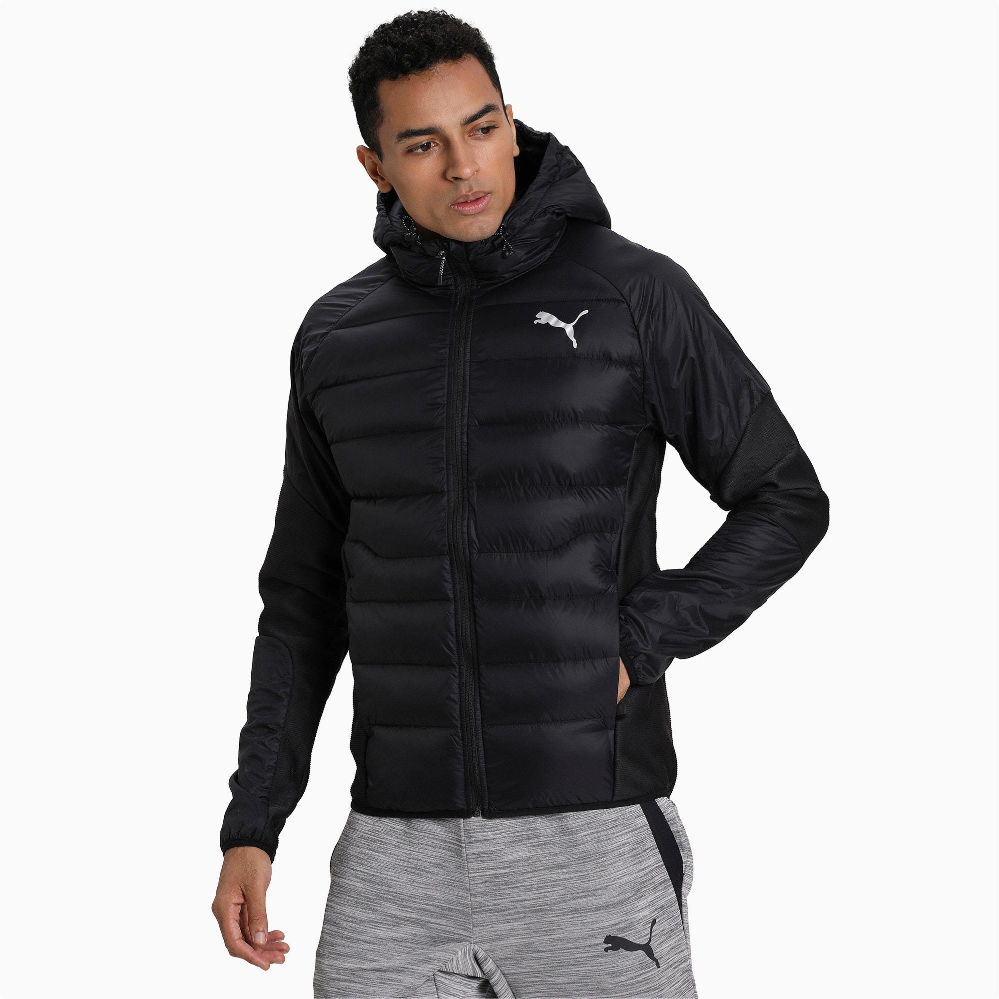 Thumbnail 1 of 600 Hybrid Down Men's Jacket, Puma Black, medium-IND