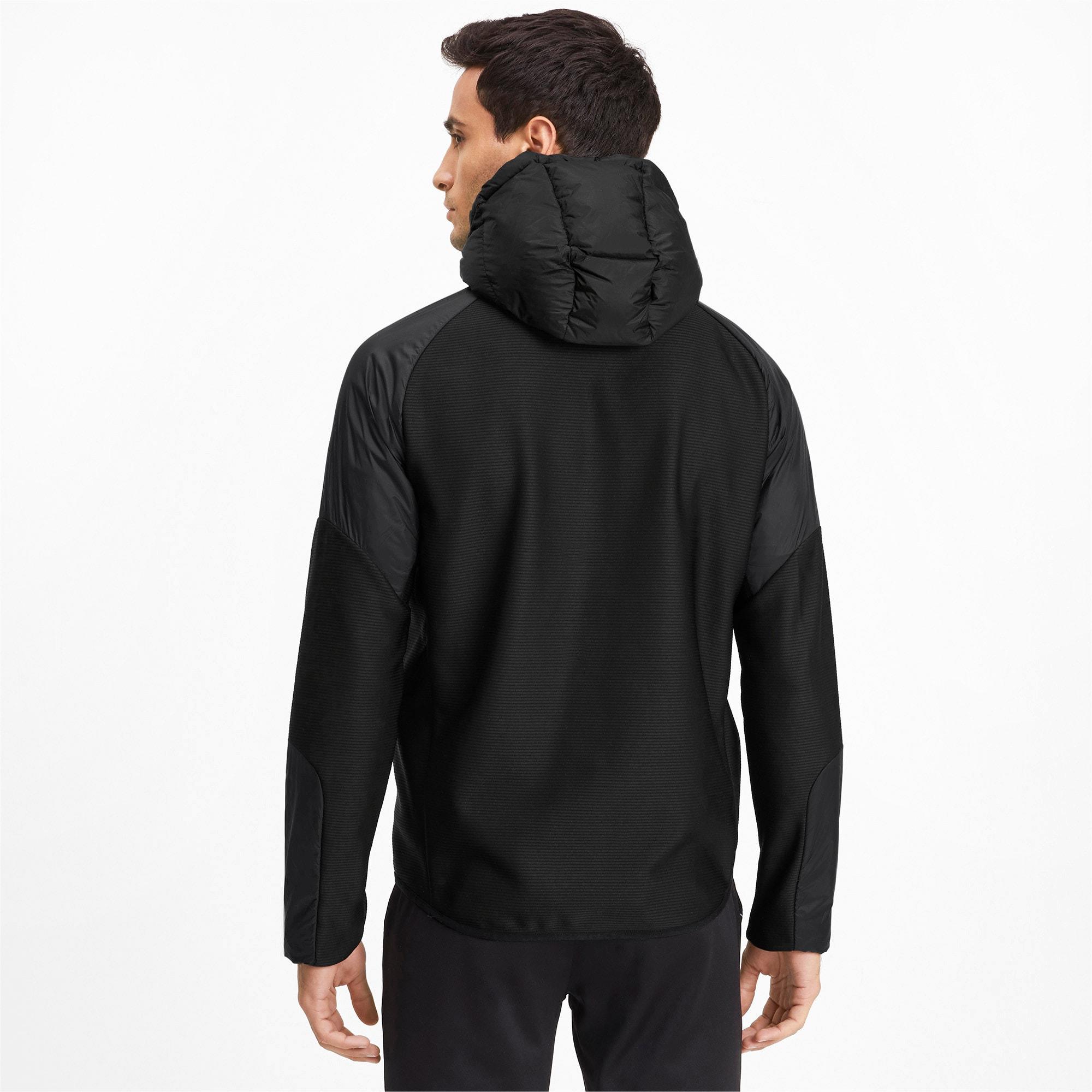 Thumbnail 2 of 600 Hybrid Down Men's Jacket, Puma Black, medium