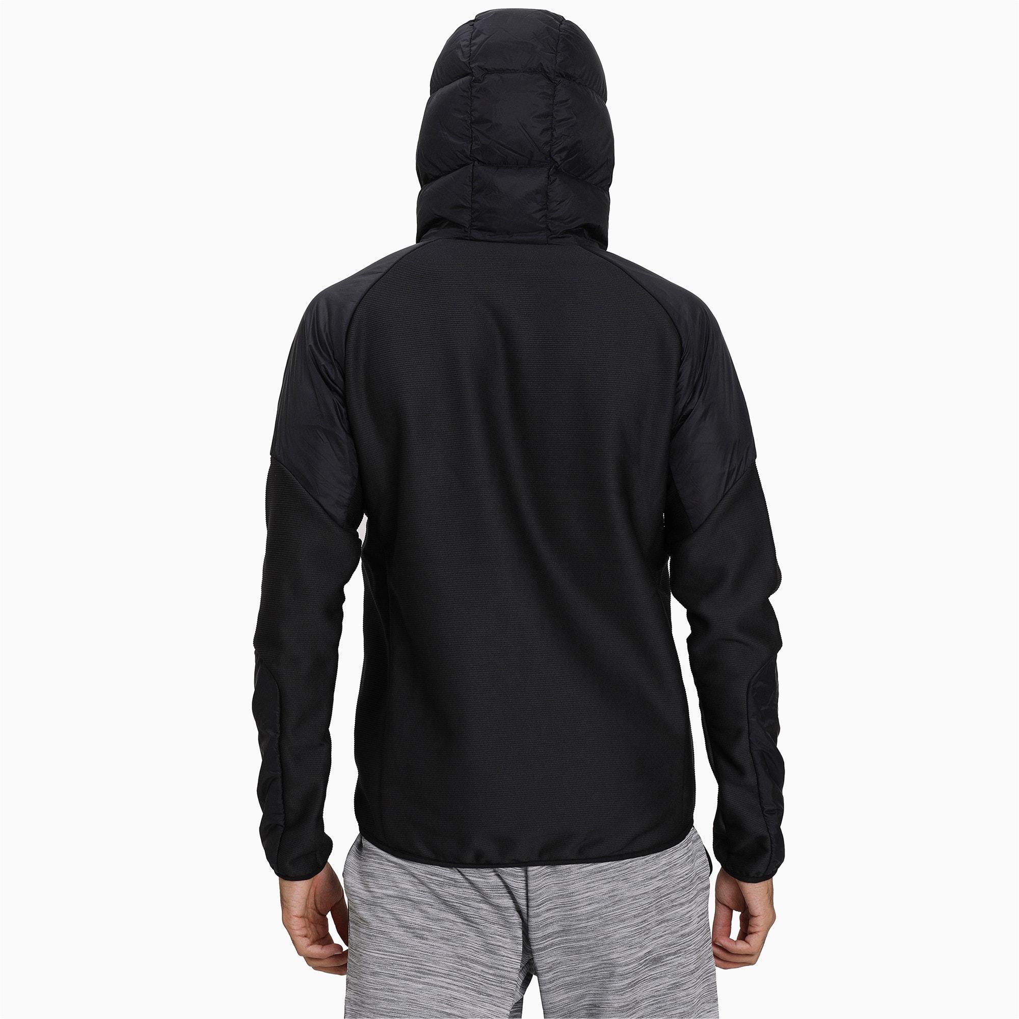 Thumbnail 2 of 600 Hybrid Down Men's Jacket, Puma Black, medium-IND