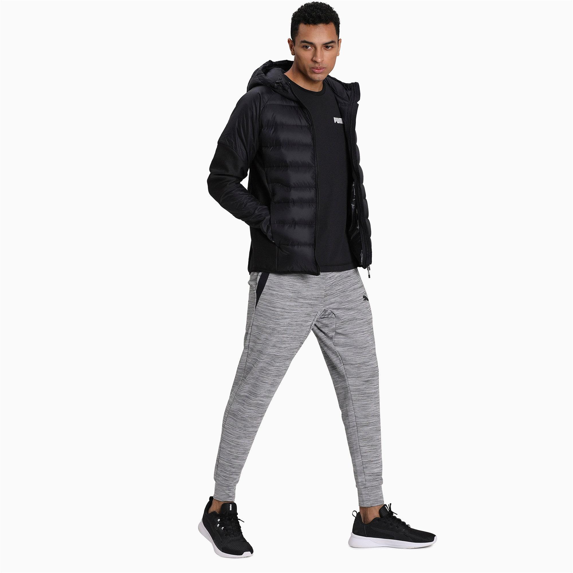 Thumbnail 3 of 600 Hybrid Down Men's Jacket, Puma Black, medium-IND