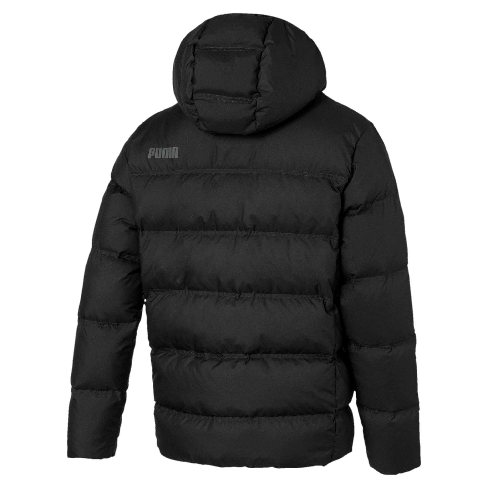 Thumbnail 5 of Essentials 400 Down HD Men's Jacket, Puma Black, medium