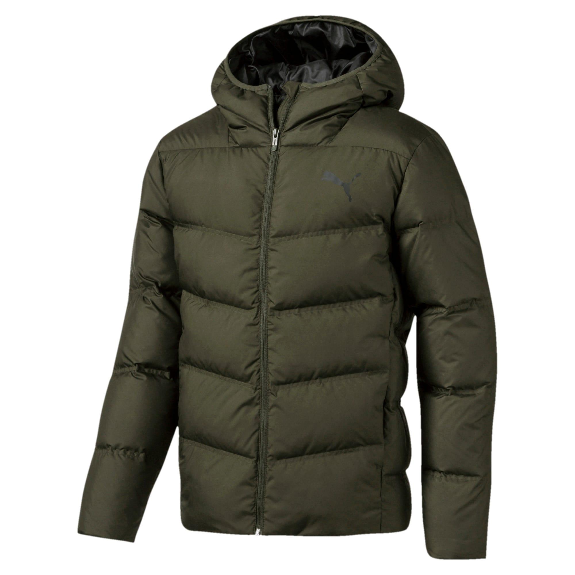 Thumbnail 4 of Essentials 400 Down HD Men's Jacket, Forest Night, medium