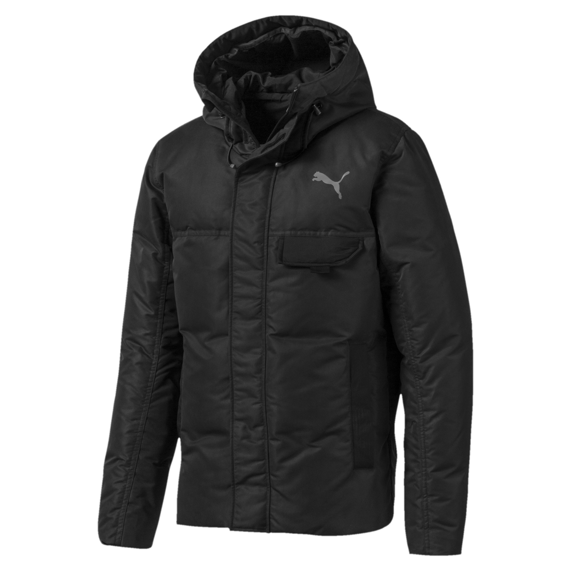Thumbnail 4 of Streetstyle 480 HD Down Men's Jacket, Puma Black, medium