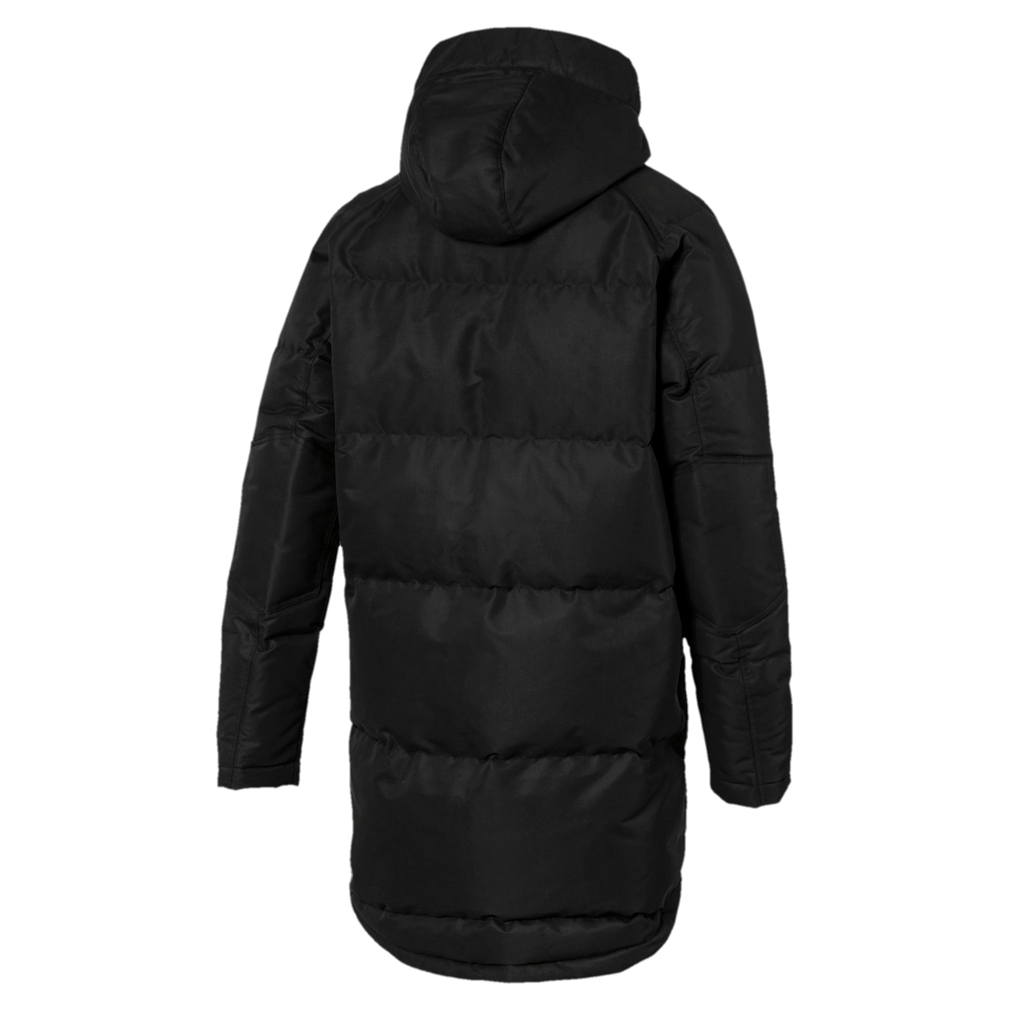 Thumbnail 5 of Oversize 500 Down Hooded Men's Jacket, Puma Black, medium