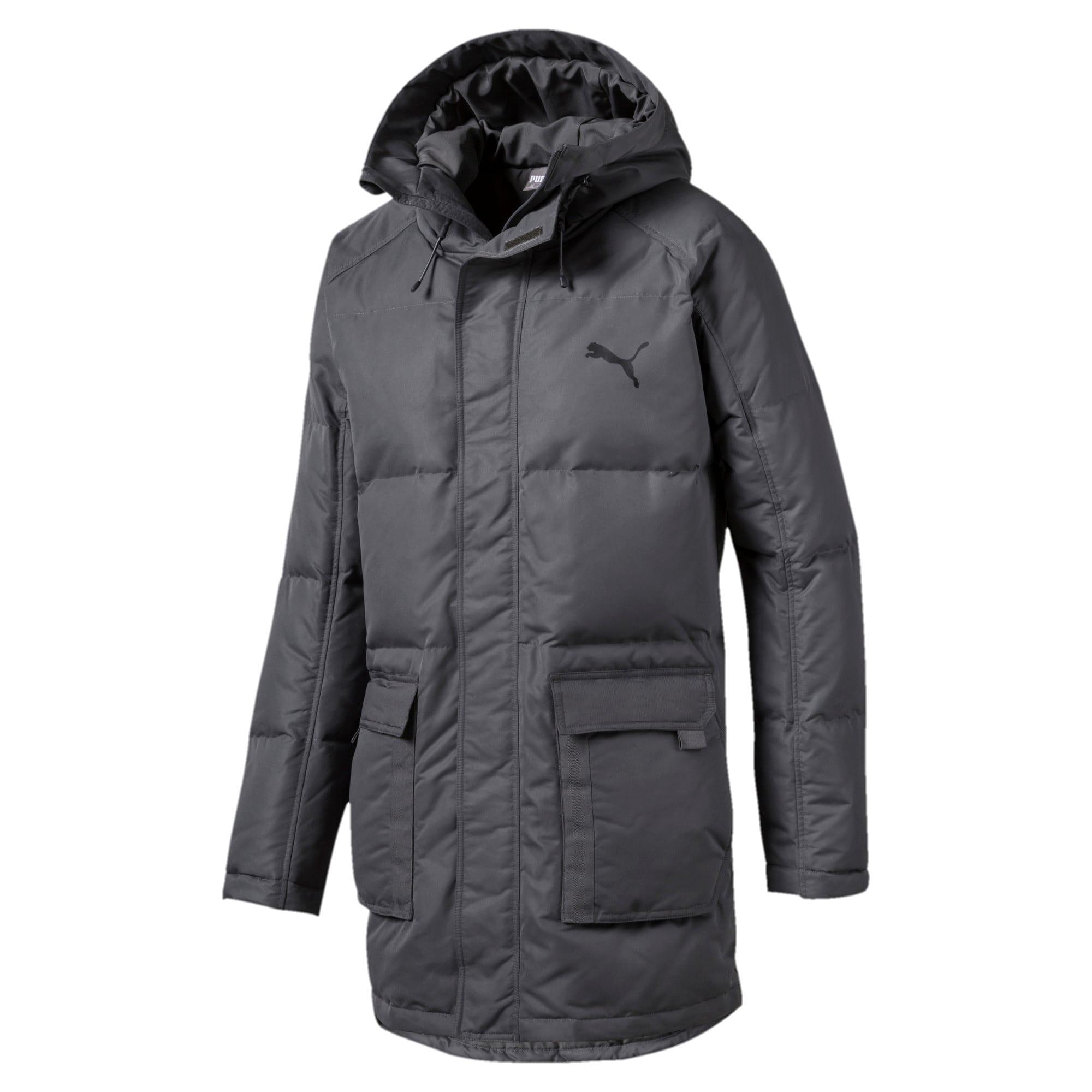 Thumbnail 4 of Oversize 500 Down Hooded Men's Jacket, CASTLEROCK, medium