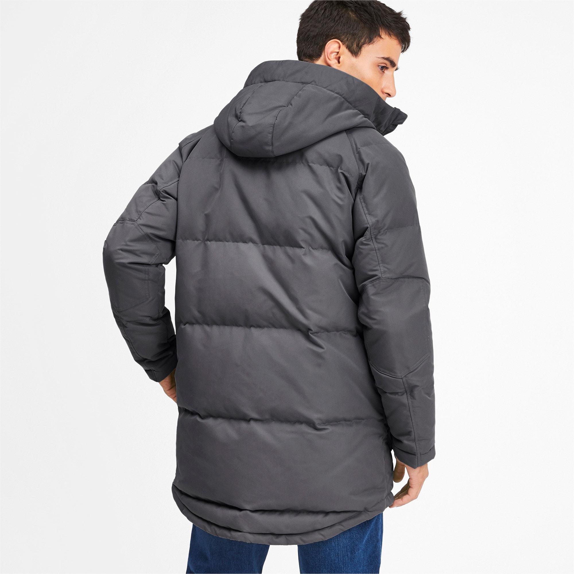 Thumbnail 2 of Oversize 500 Down Hooded Men's Jacket, CASTLEROCK, medium