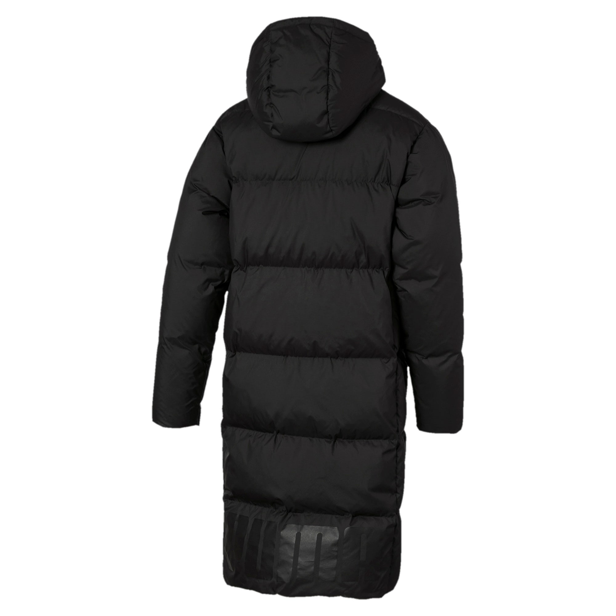 Anteprima 5 di Long Oversized Men's Hooded Coat, Puma Black, medio