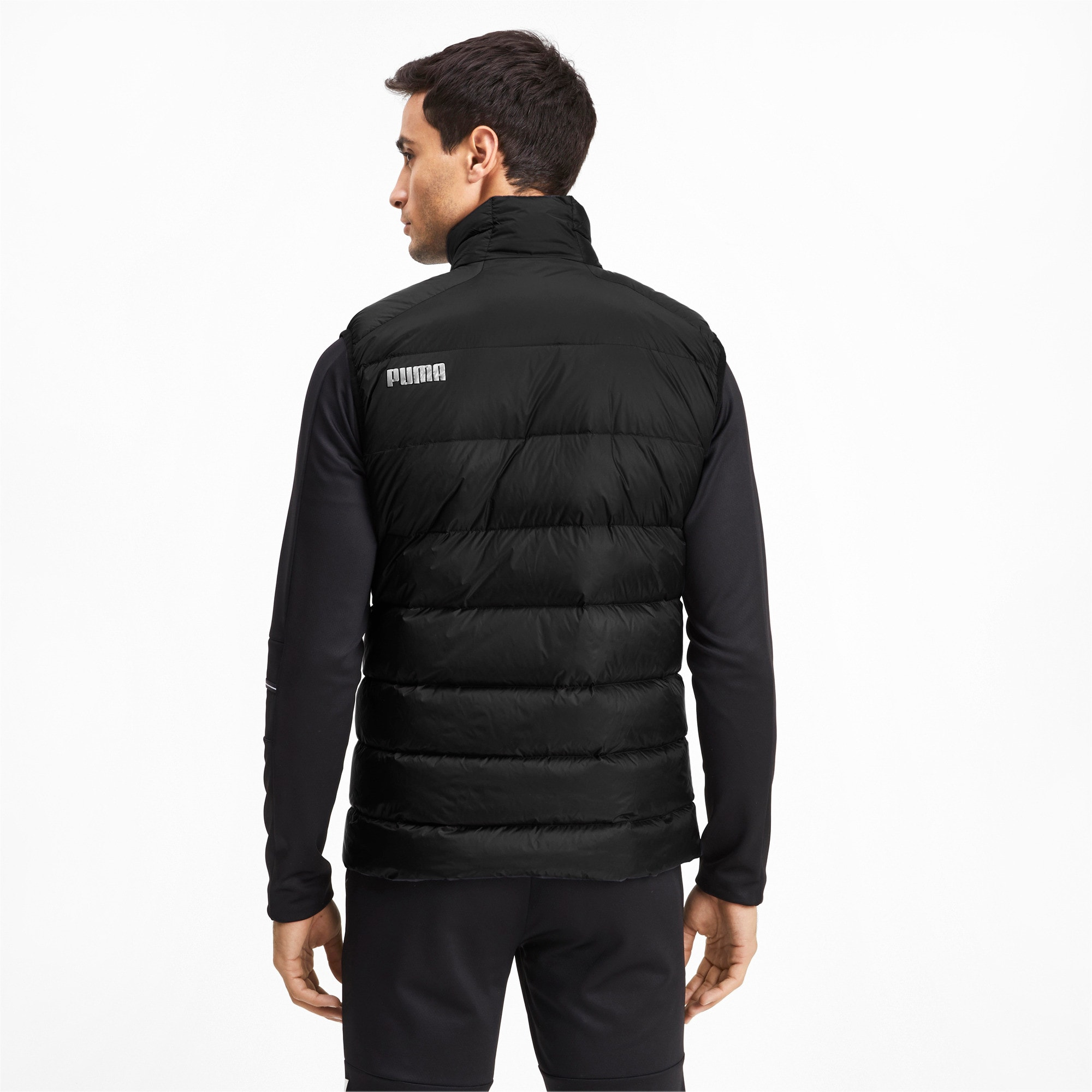 Thumbnail 2 of PWRWarm packLITE 600 Down Men's Vest, Puma Black, medium