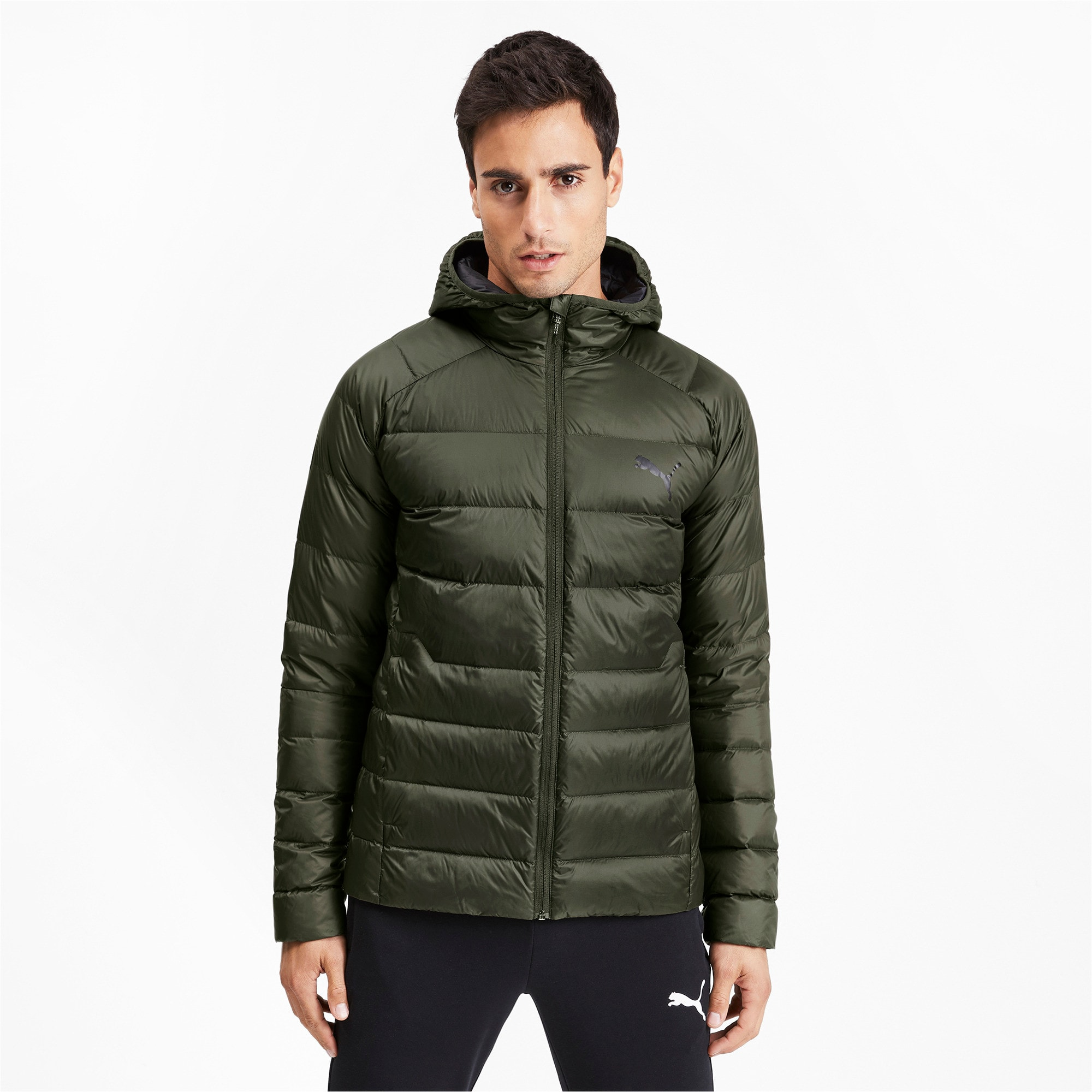 Thumbnail 1 of PWRWarm packLITE HD 600 Down Men's Jacket, Forest Night, medium-IND