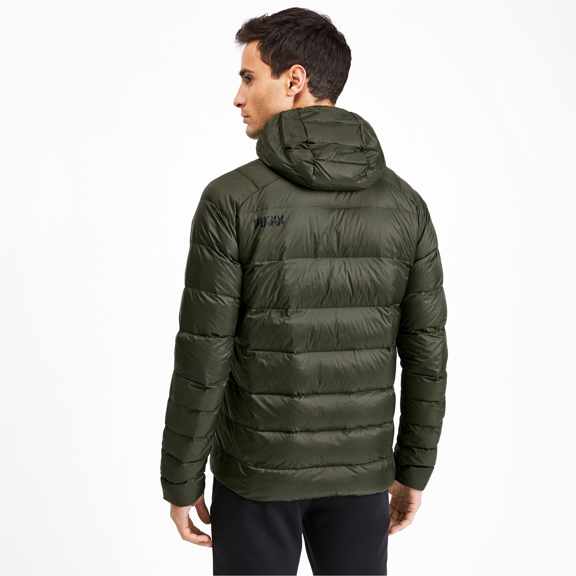 Thumbnail 2 of PWRWarm packLITE HD 600 Down Men's Jacket, Forest Night, medium-IND