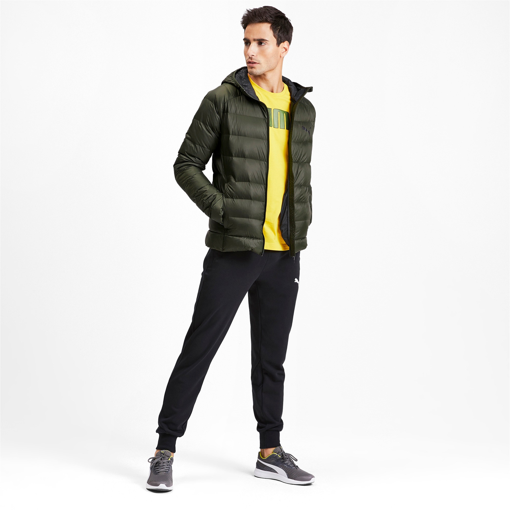 Thumbnail 3 of PWRWarm packLITE HD 600 Down Men's Jacket, Forest Night, medium-IND