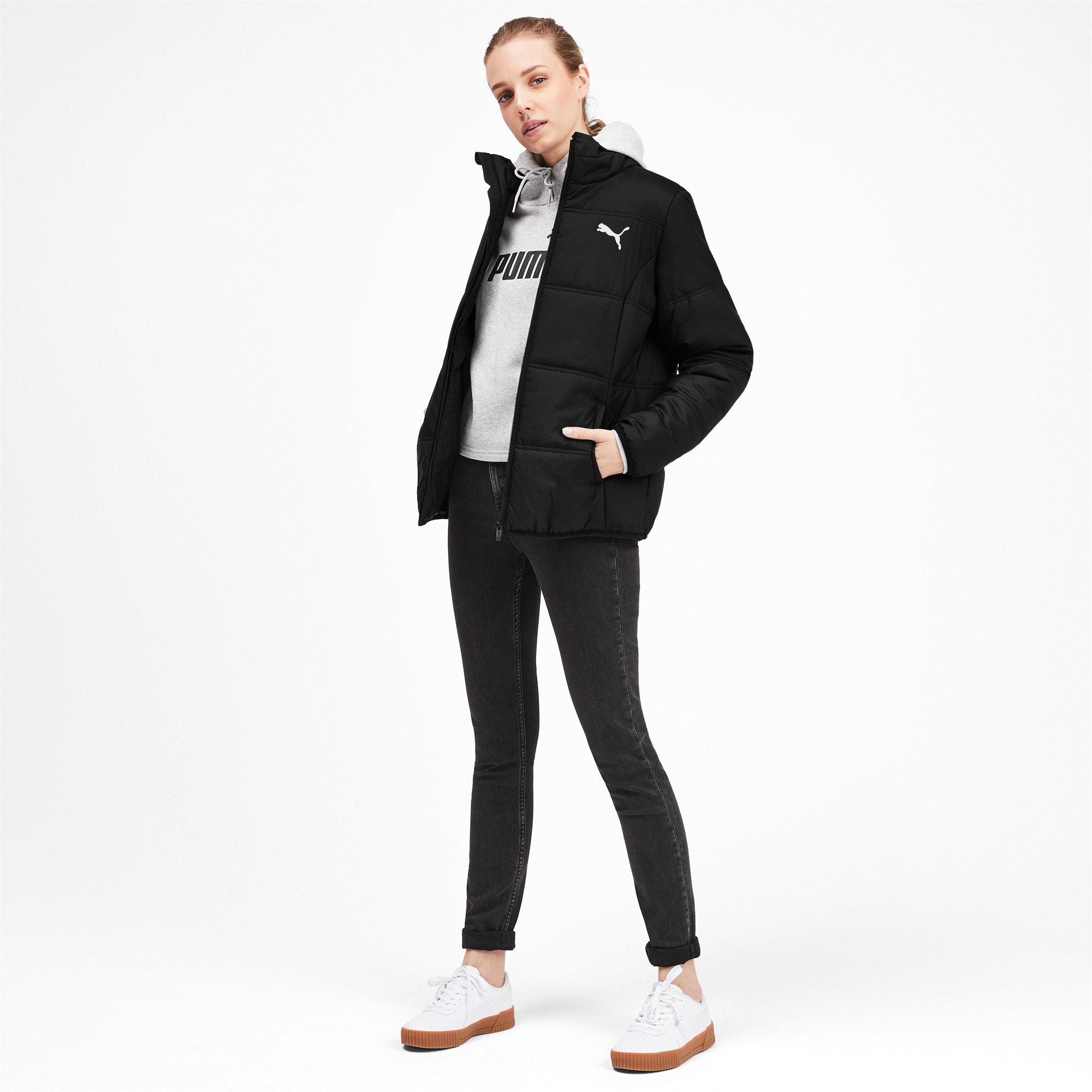 Thumbnail 3 of Essentials Padded Women's Jacket, Puma Black, medium
