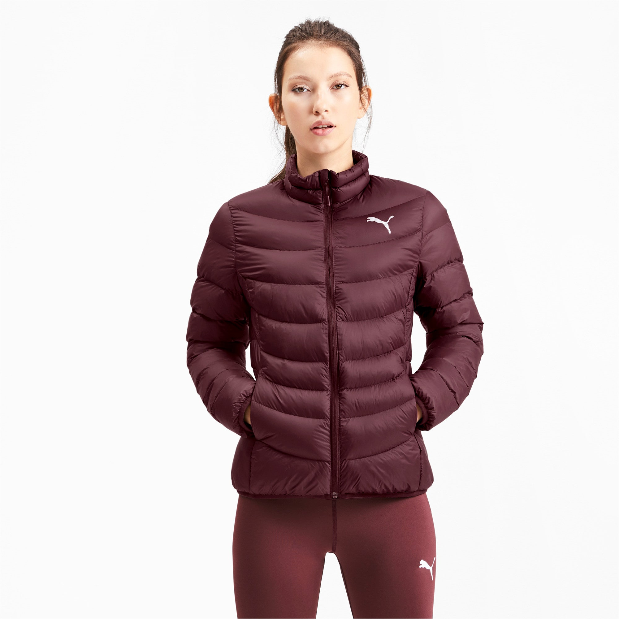 Thumbnail 1 of Ultralight warmCELL Damen Jacke, Vineyard Wine, medium