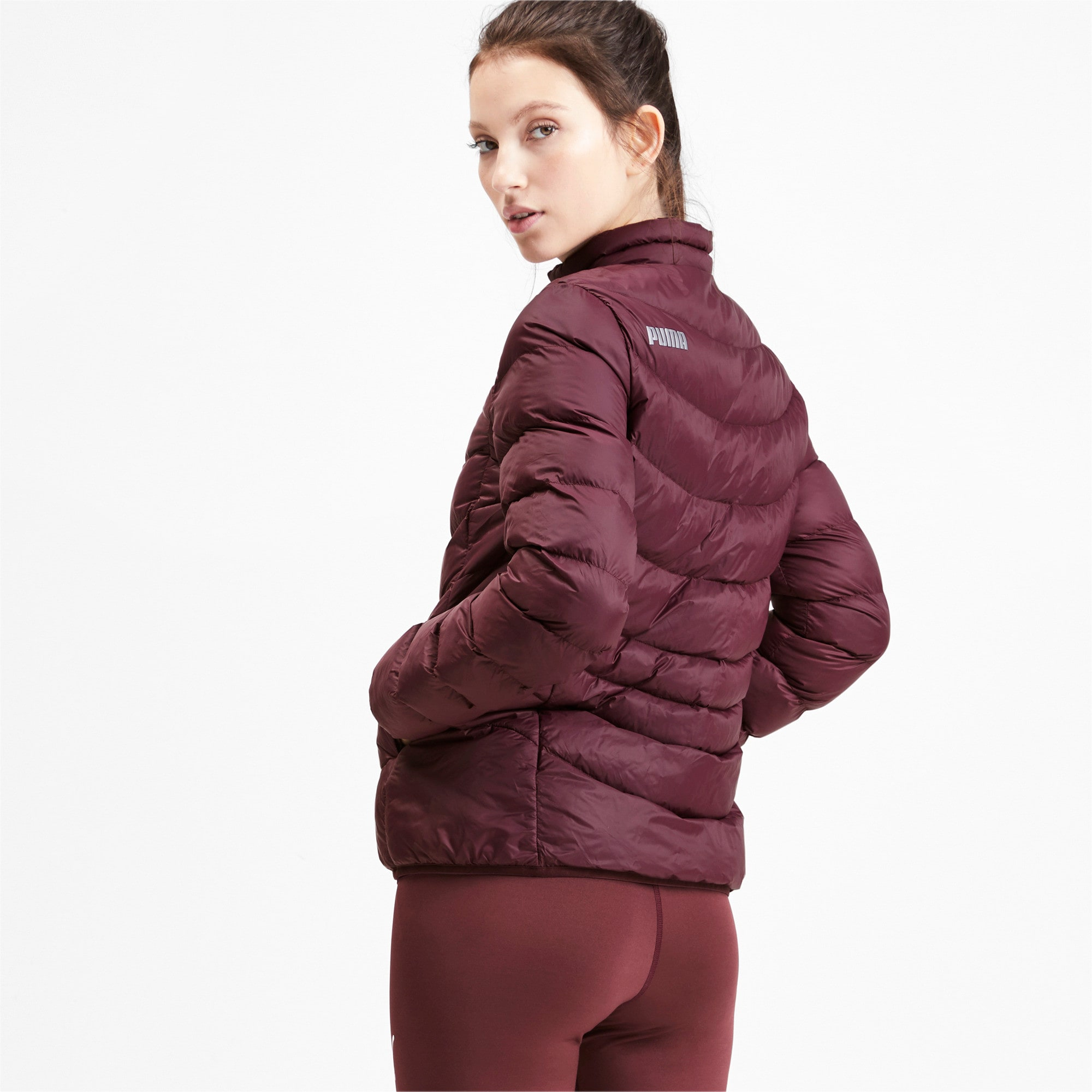 Thumbnail 2 of Ultralight warmCELL Damen Jacke, Vineyard Wine, medium