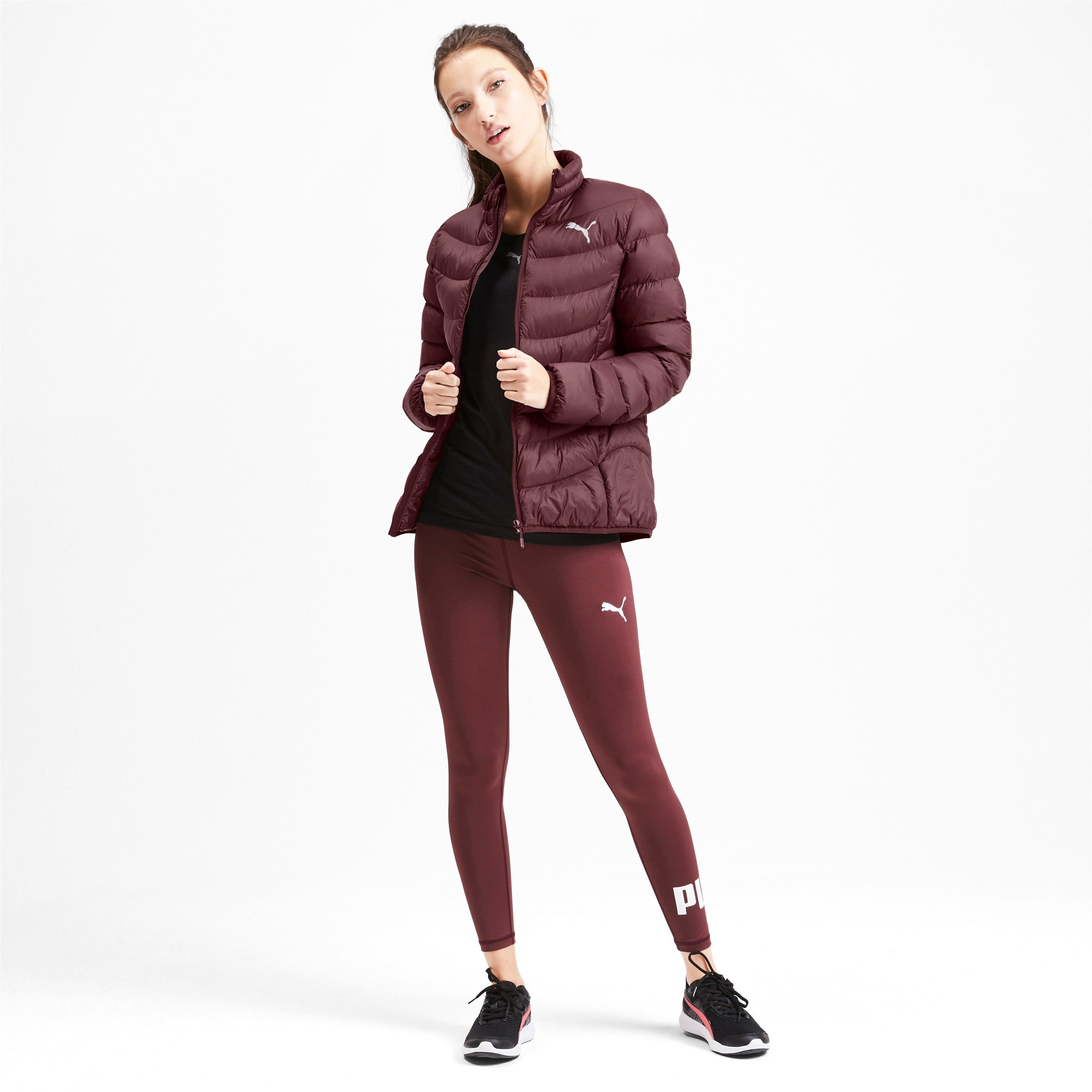 Thumbnail 3 of Ultralight warmCELL Damen Jacke, Vineyard Wine, medium