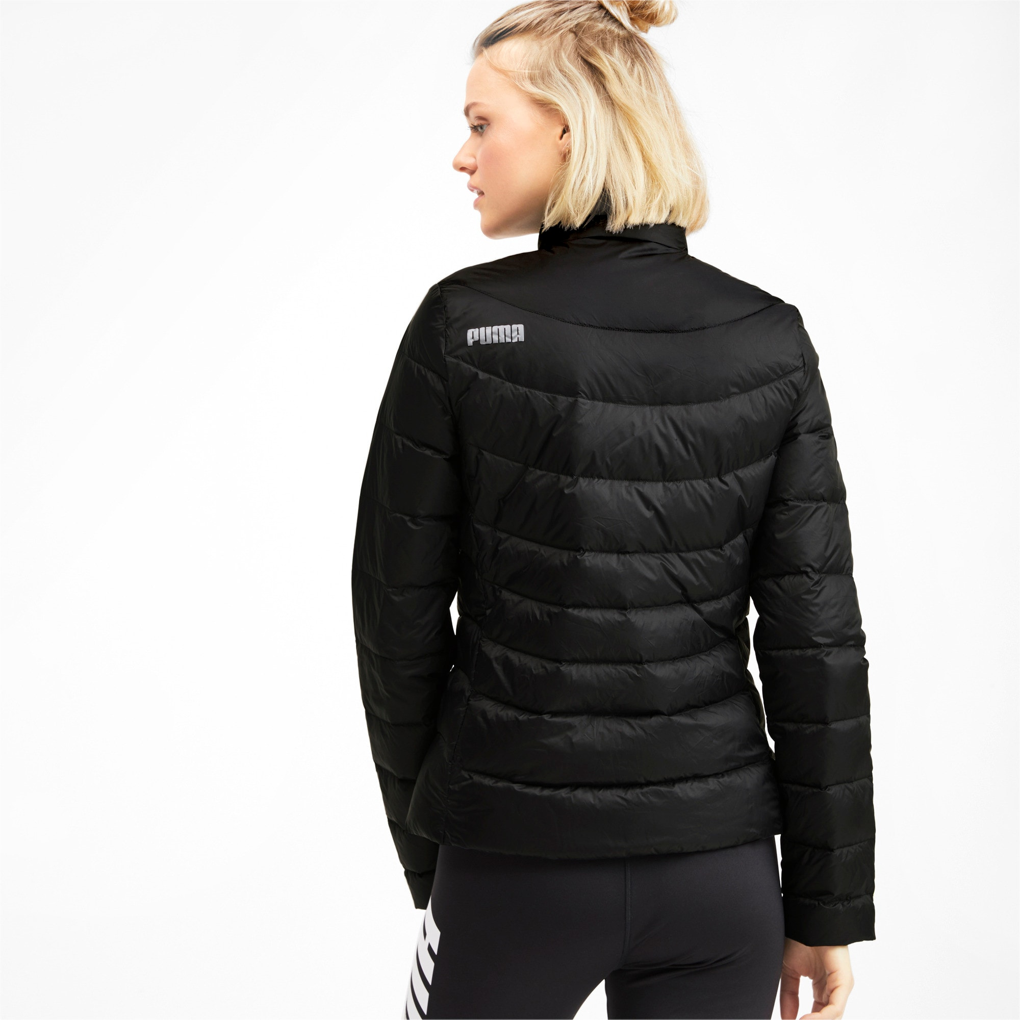 Thumbnail 2 of PWRWarm packLITE 600 Down Women's Jacket, Puma Black, medium