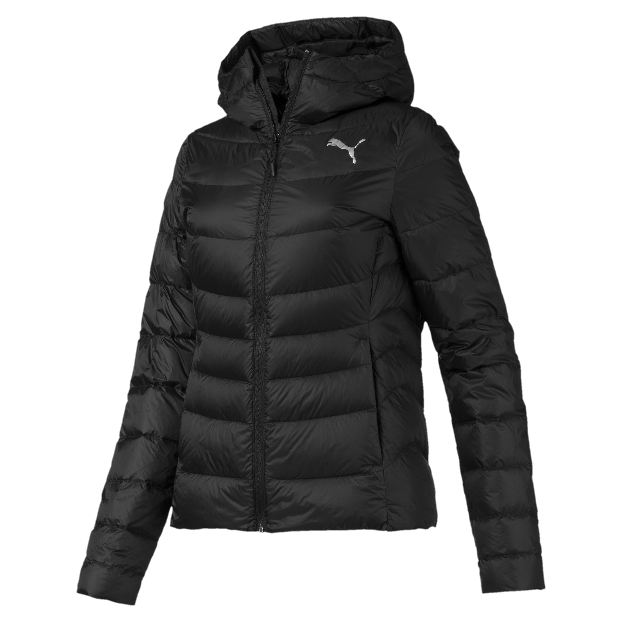 Thumbnail 4 of PWRWarm packLITE Down Women's Jacket, Puma Black, medium